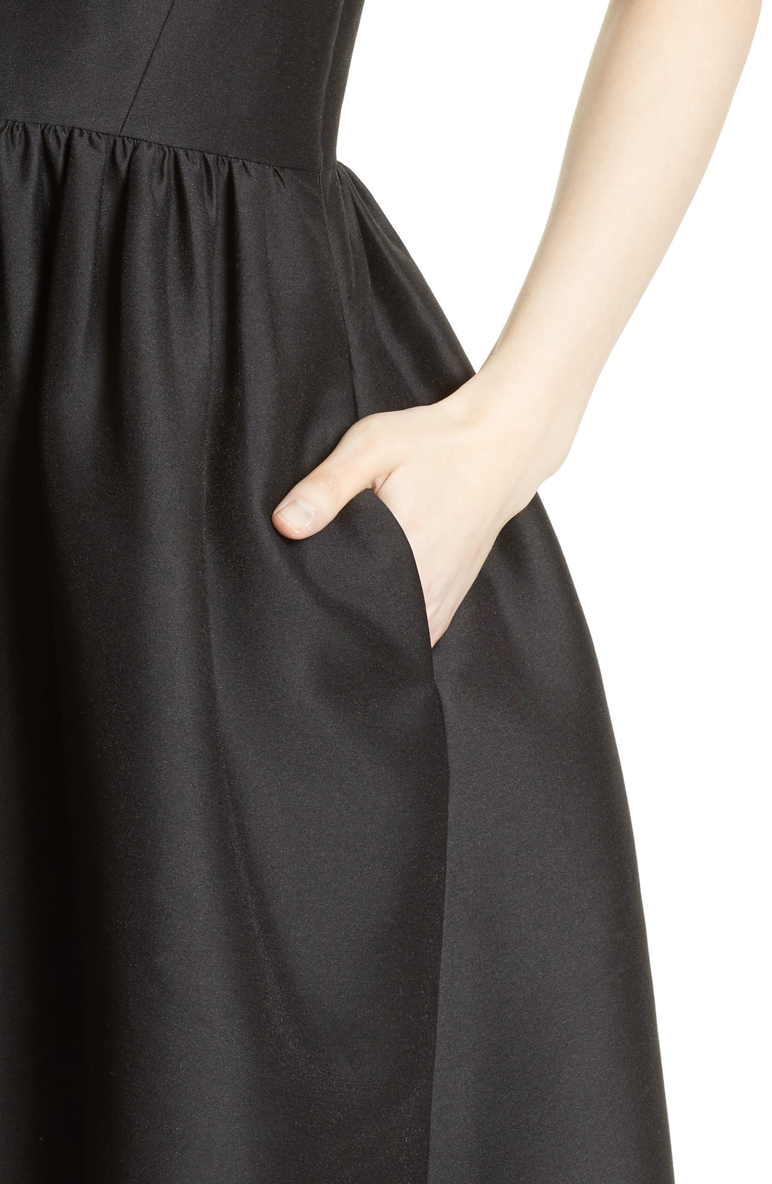 Alternate Image 4  - kate spade new york bow back fit & flare dress