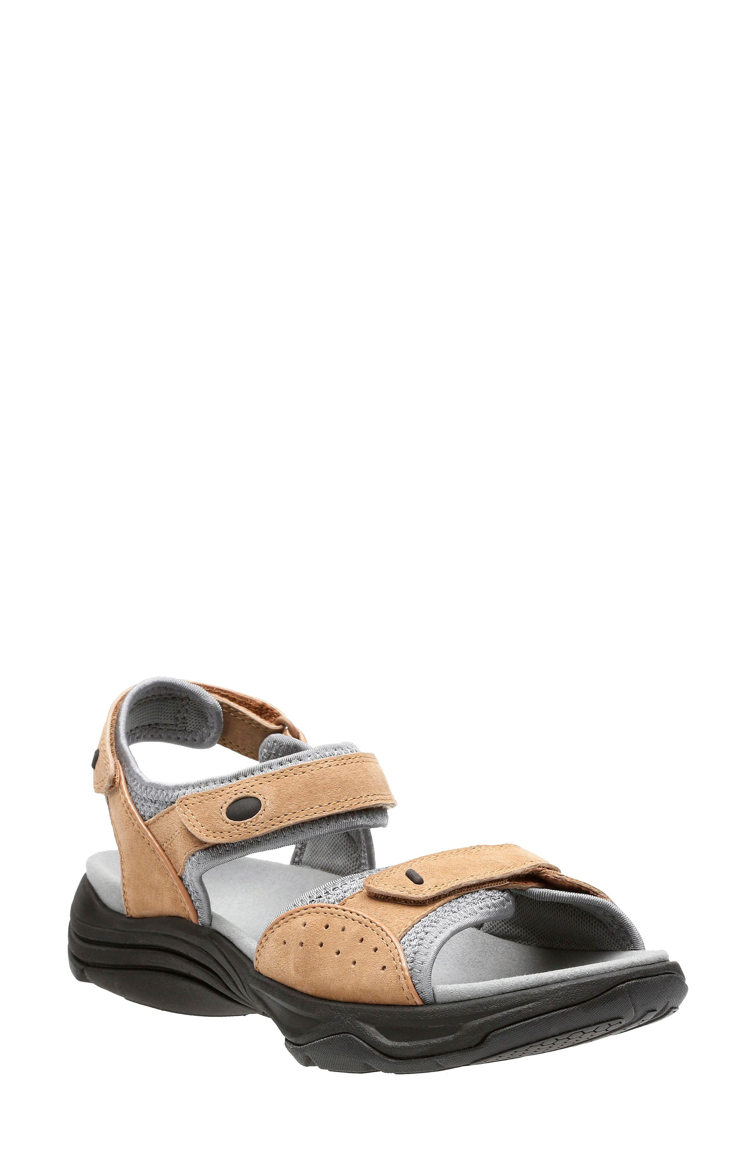 Clarks® Wave Grip Sandal (Women)