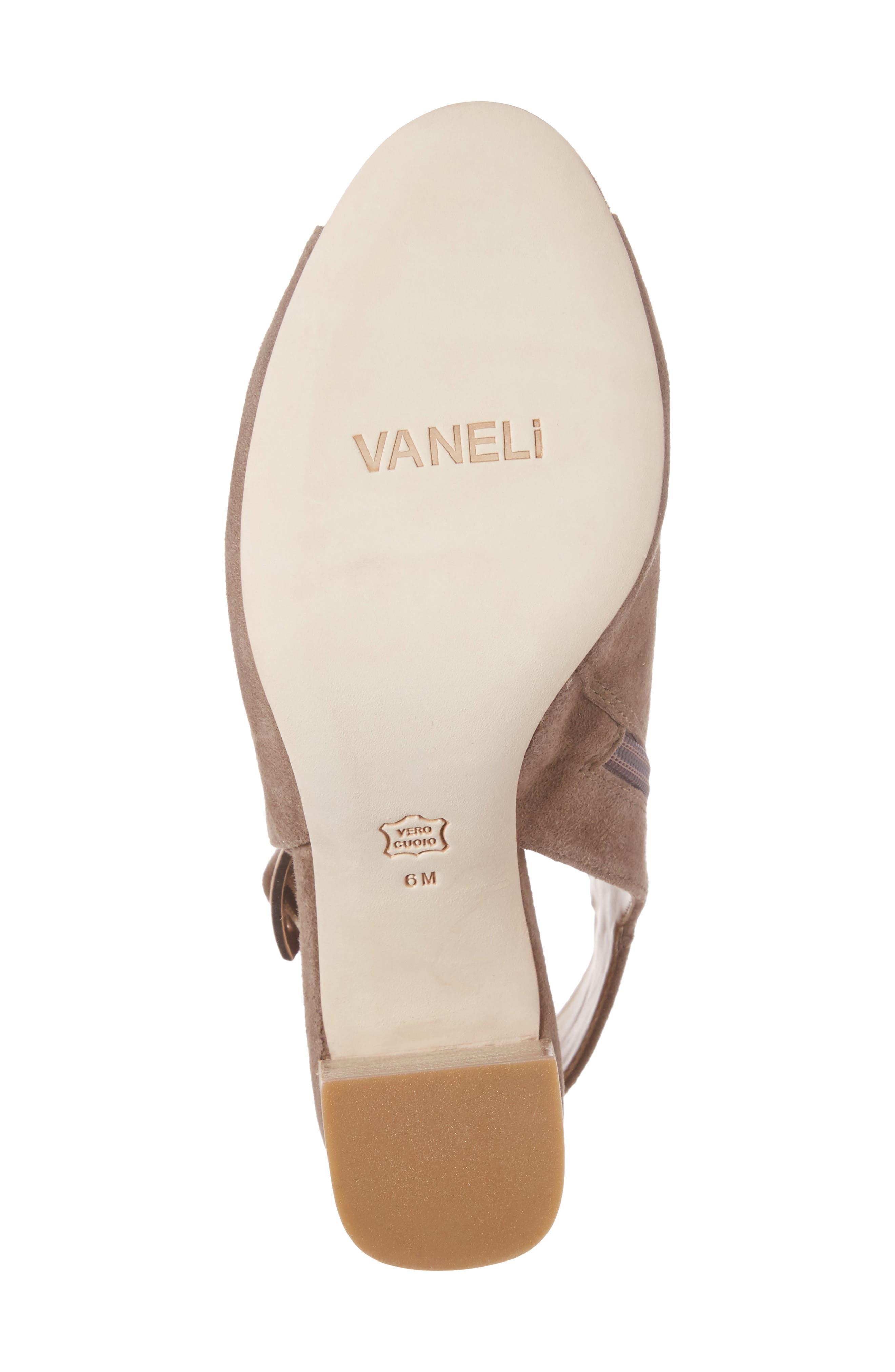 Alternate Image 6  - VANELi 'Bisa' Peep Toe Slingback Sandal (Women)