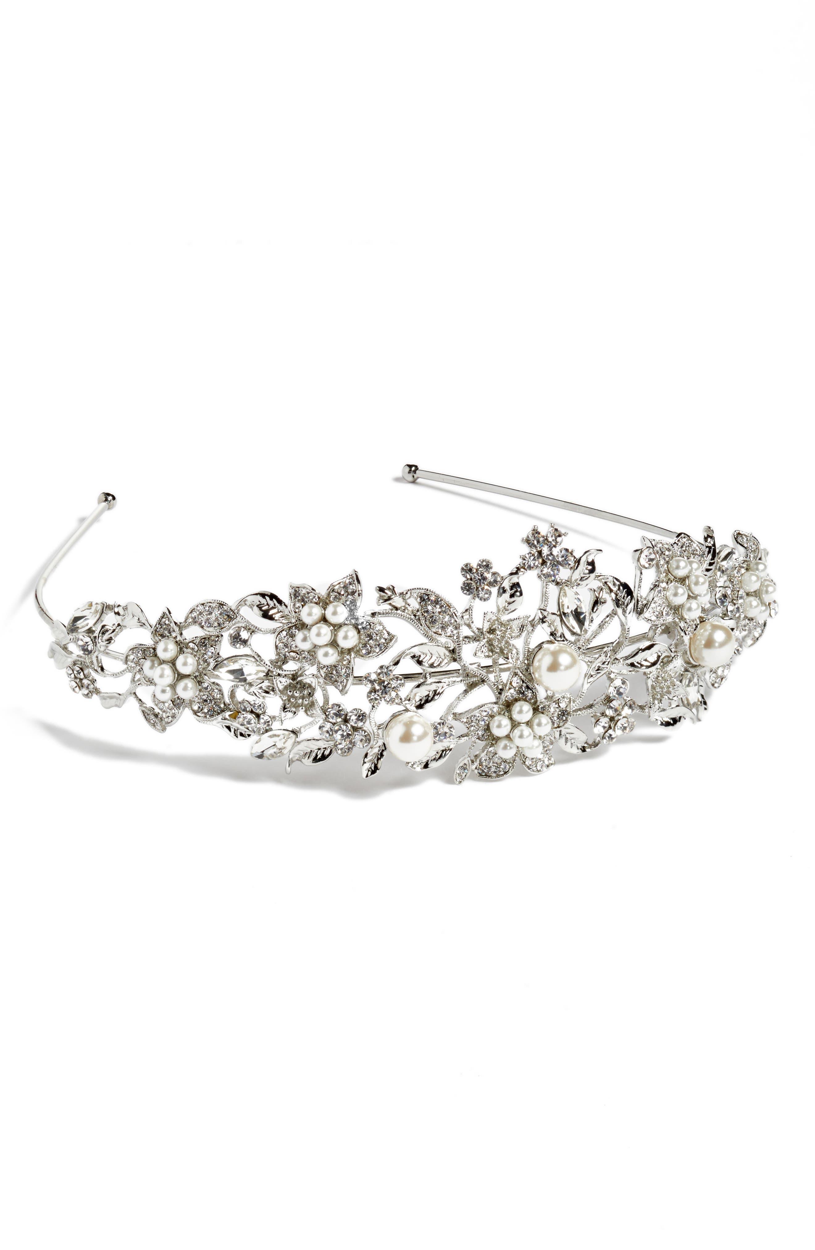 Nina 'Vina' Crystal Floral Headband