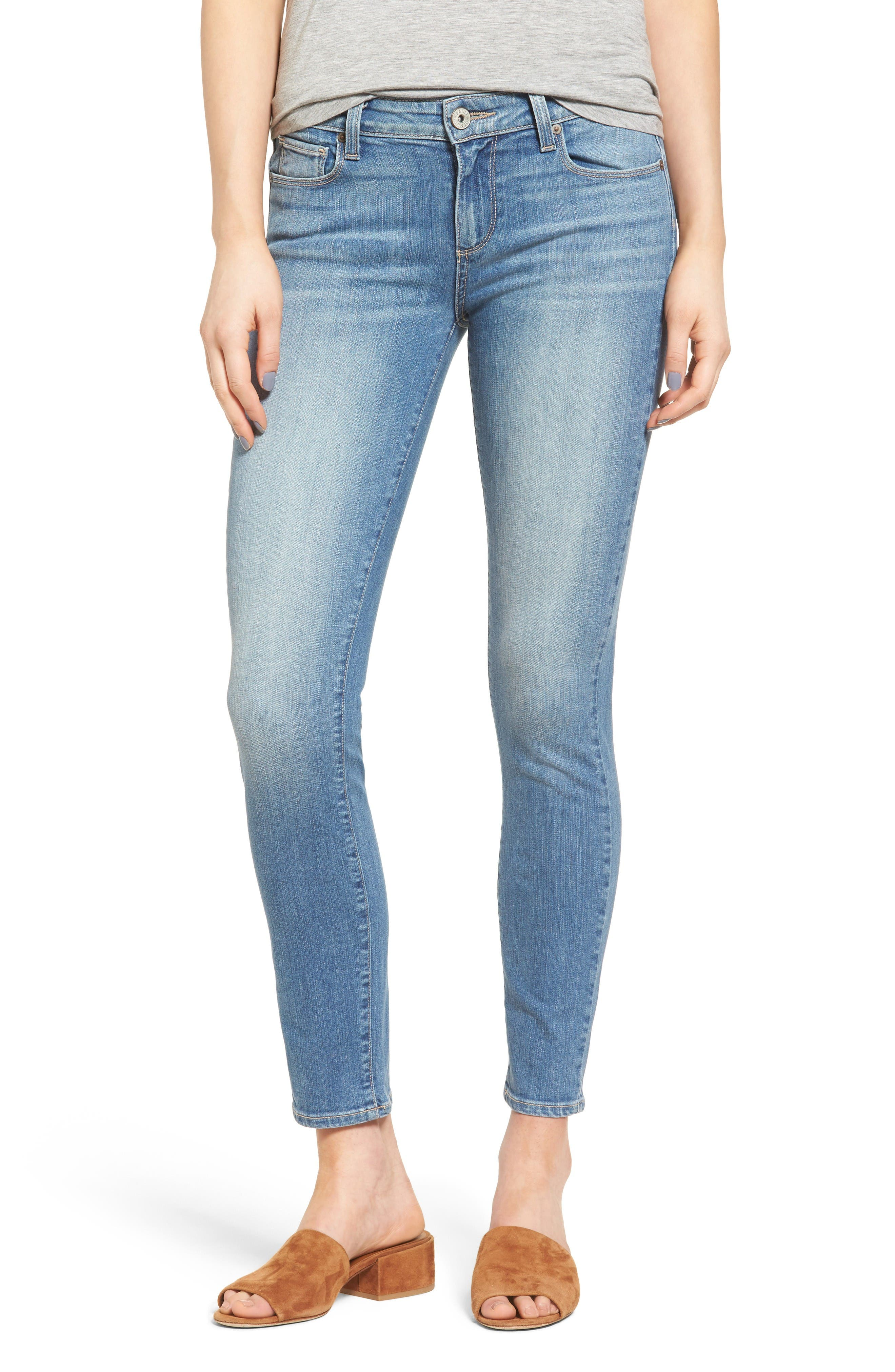 PAIGE Verdugo Ankle Ultra Skinny Jeans (Marielle)
