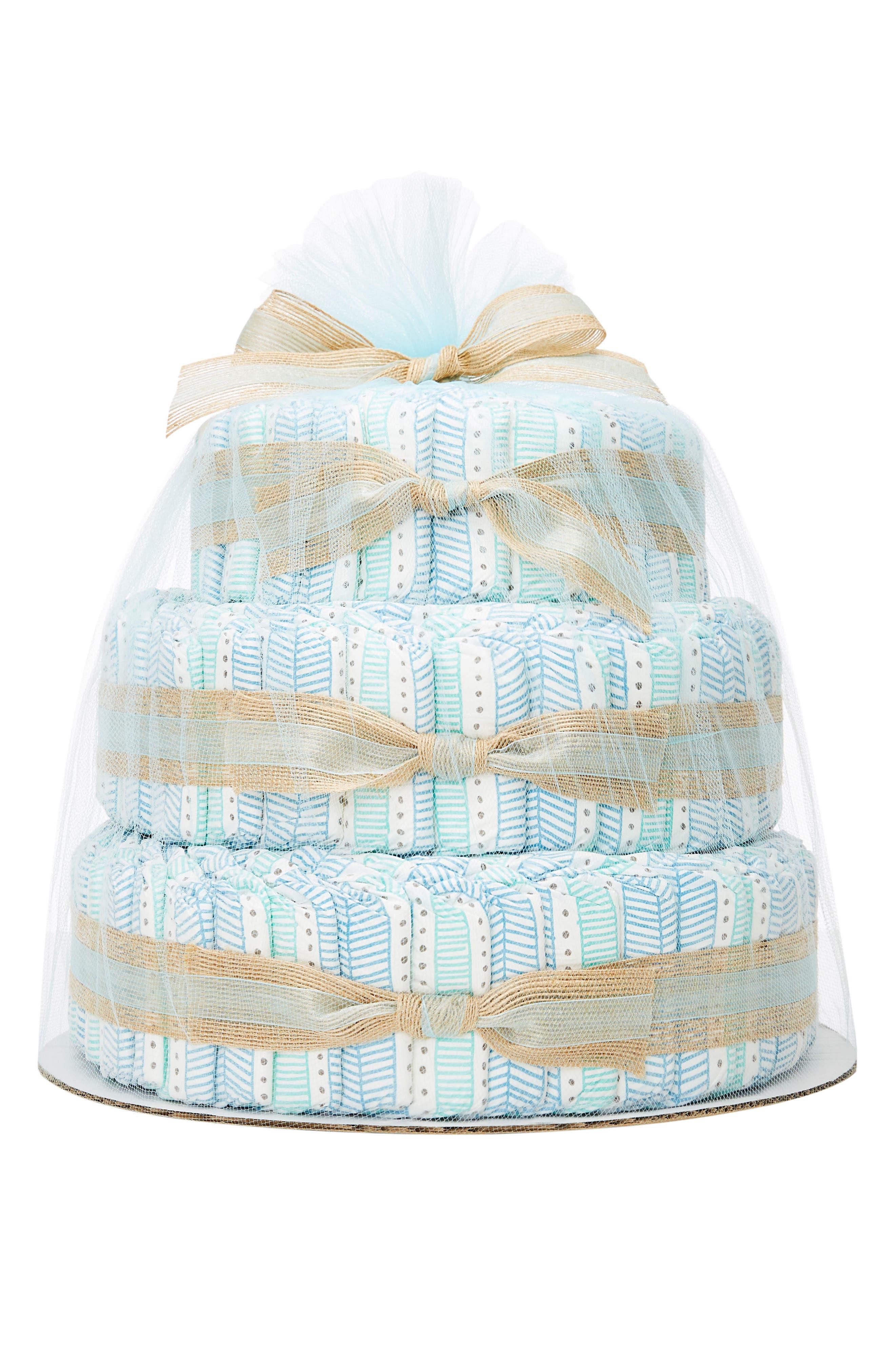 The Honest Company Large Diaper Cake & Full-Size Essentials Set