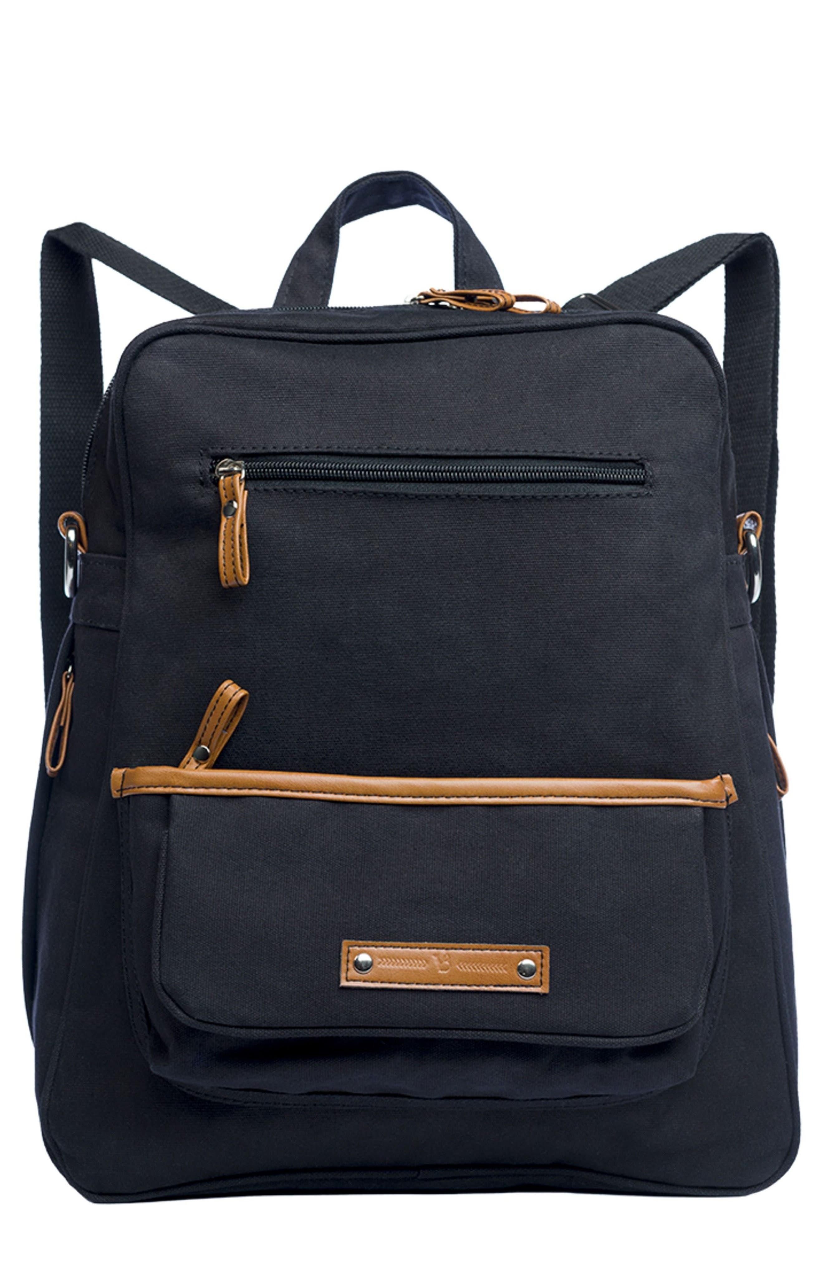 Vilah Bloom Monroe-On-the-Go Diaper Backpack