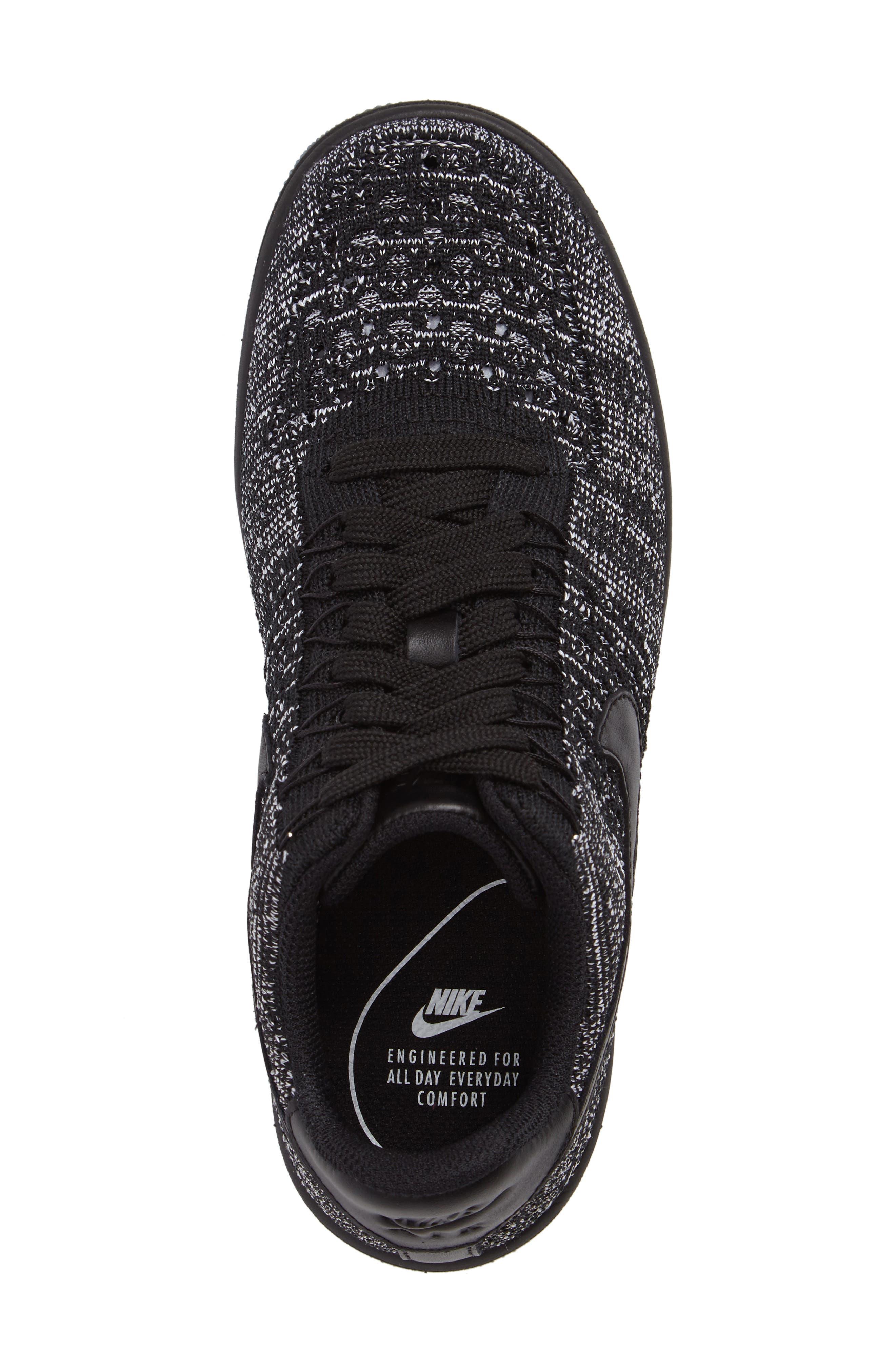 Alternate Image 5  - Nike 'Air Force 1 Flyknit Low' Sneaker (Women)