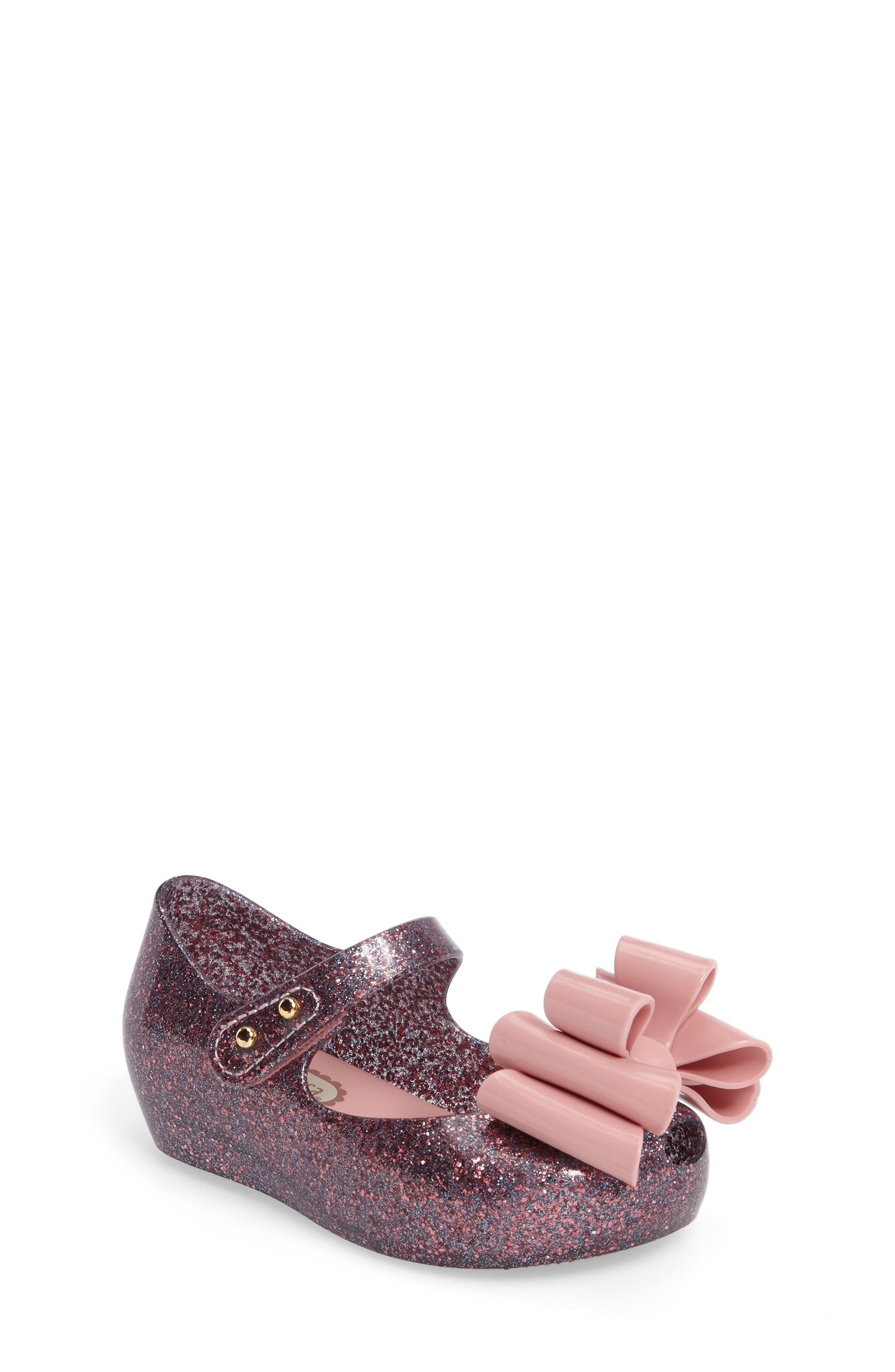 Mini Melissa Ultragirl Sweet III Mary Jane Flat (Walker & Toddler)
