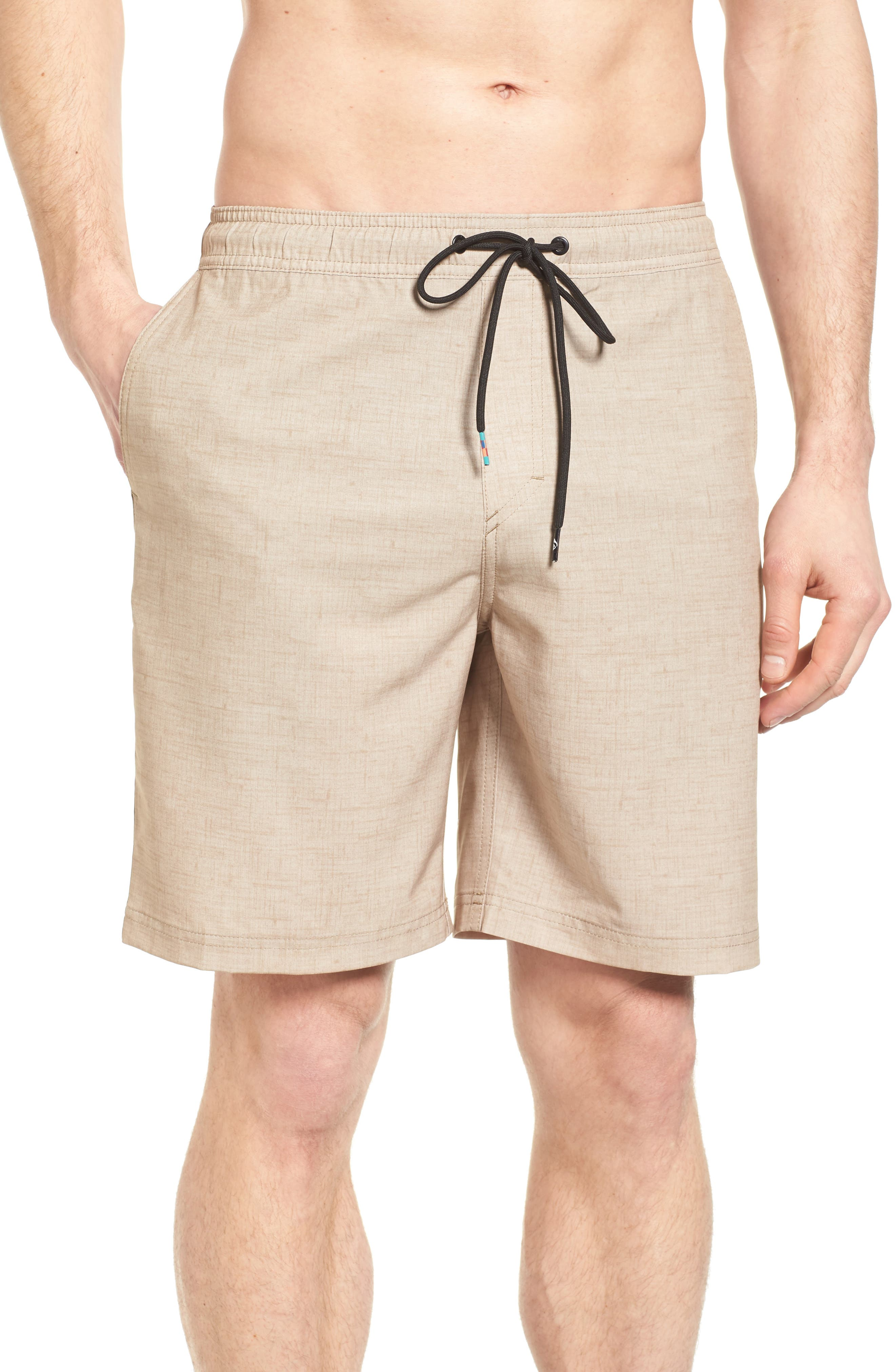 Quiksilver Waisted Amp Hybrid Shorts