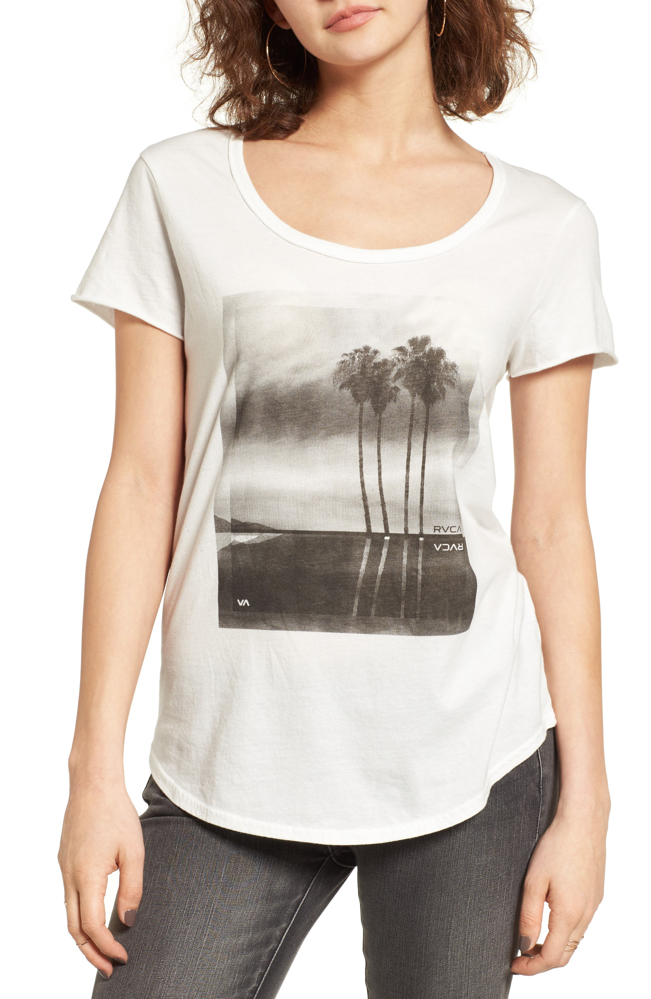 RVCA Palm Reflection Graphic Tee