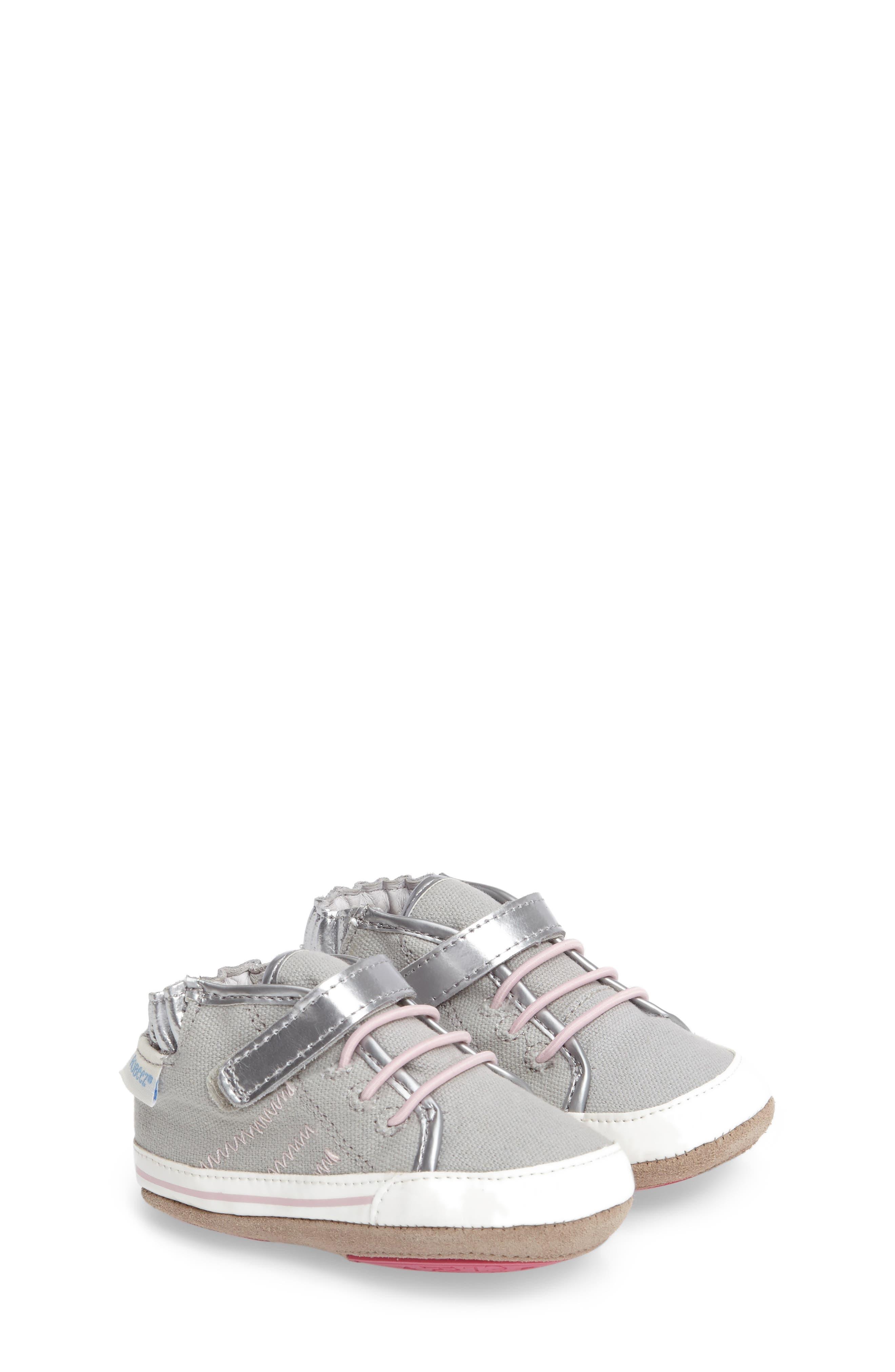 Robeez® Hadley High Top Sneaker (Baby & Walker)