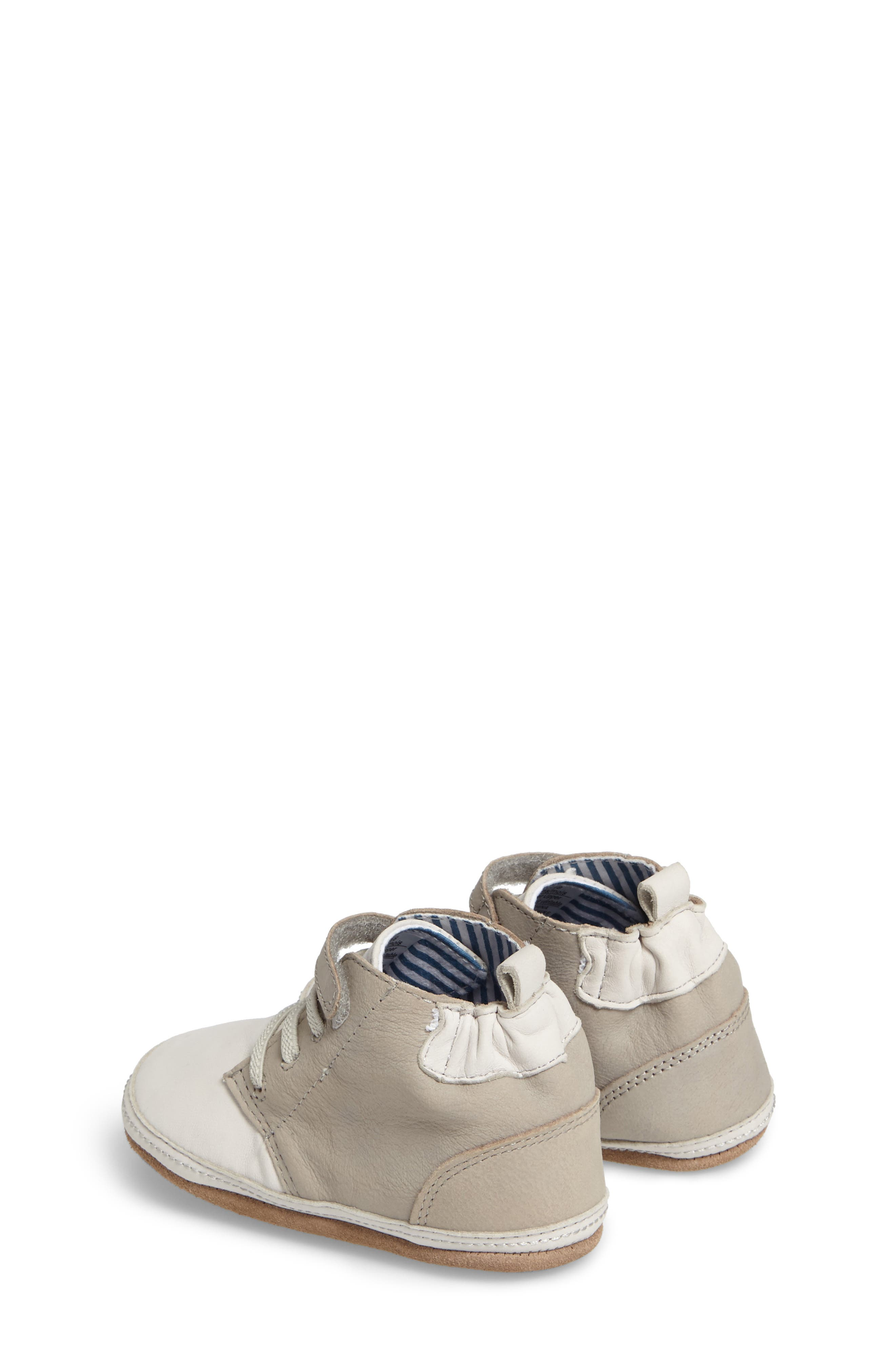Alternate Image 2  - Robeez® Elijah Crib Shoe (Baby & Walker)