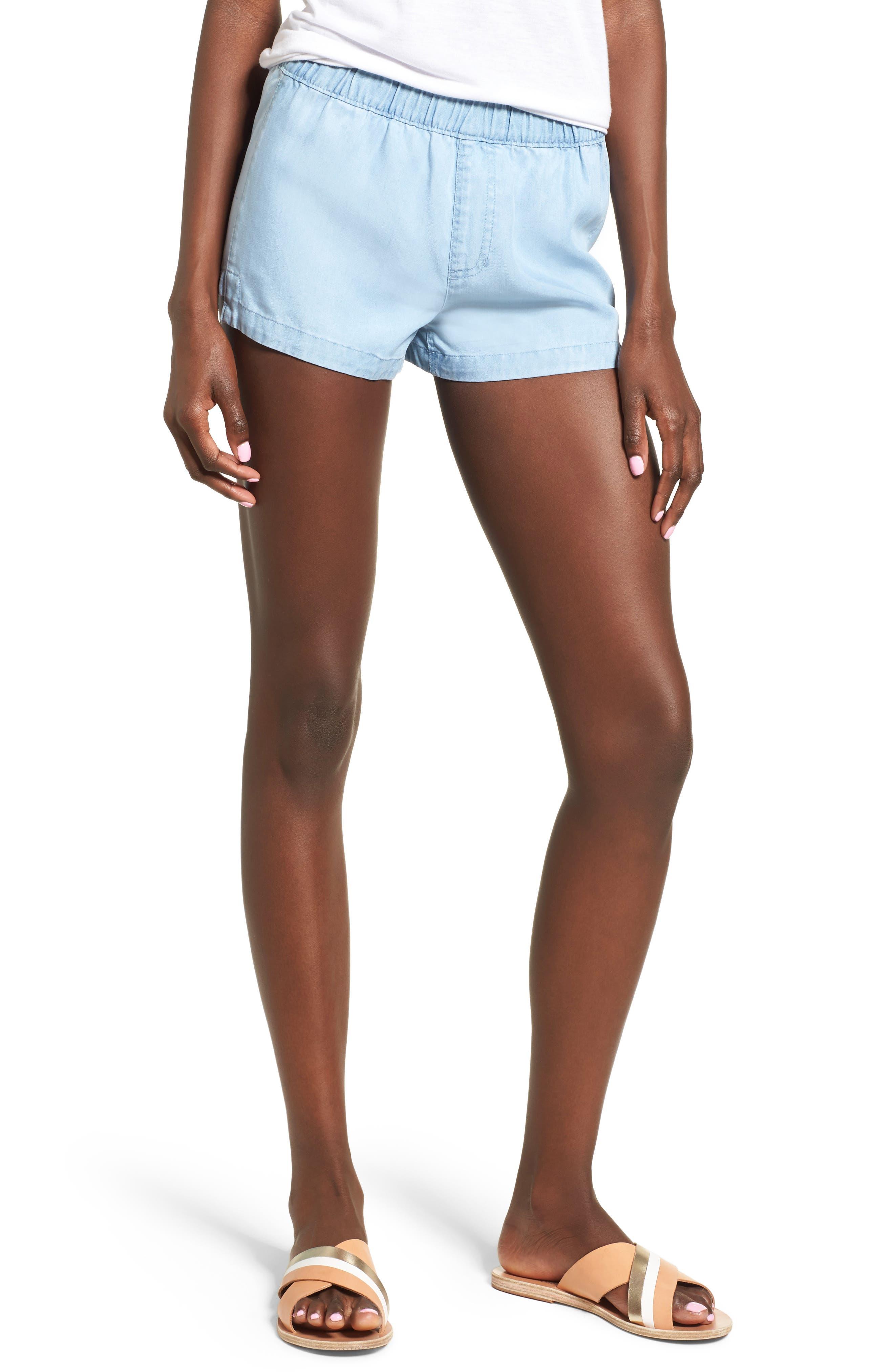 RVCA Semblance Chambray Shorts