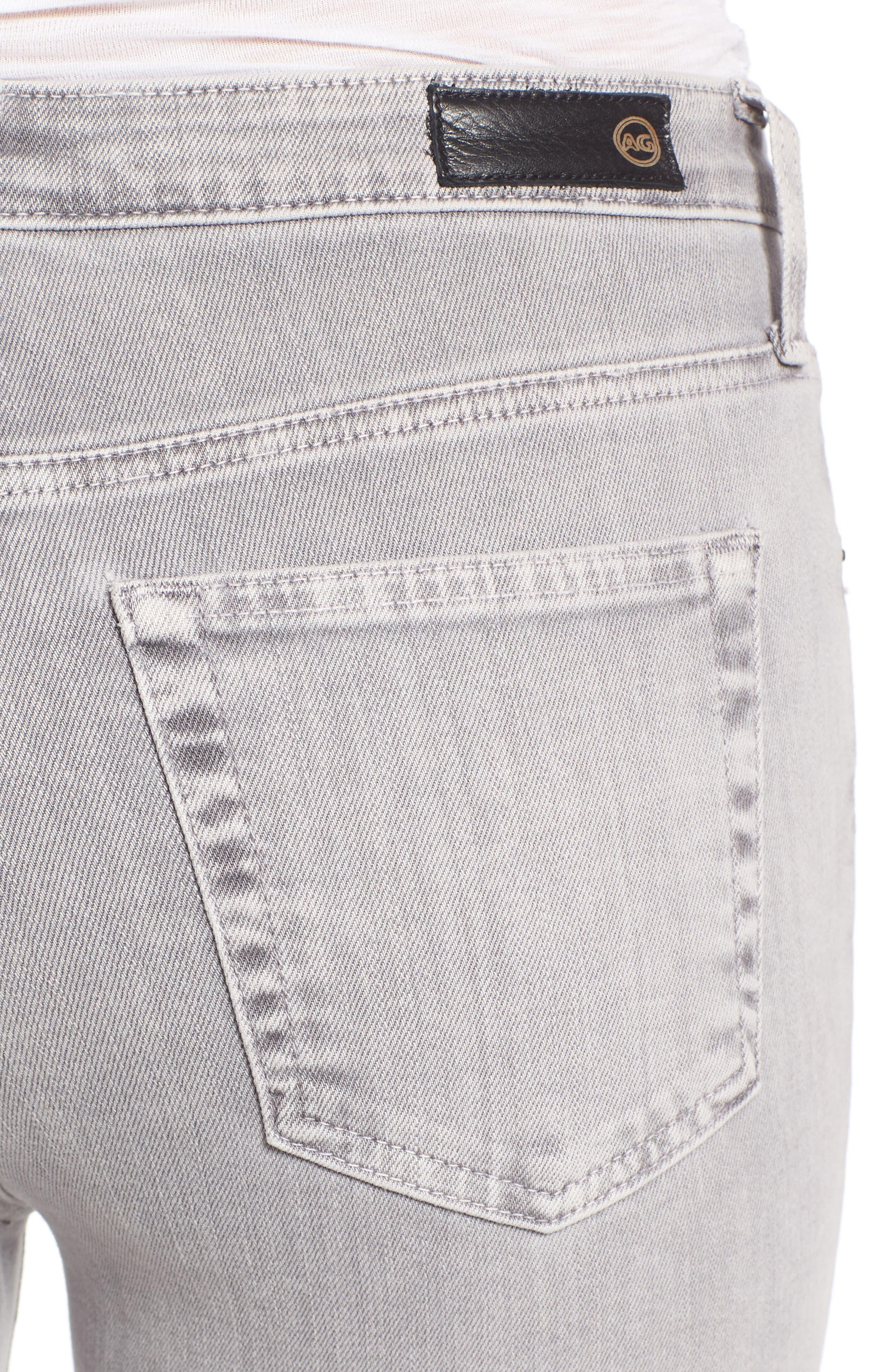 Alternate Image 4  - AG The Isabelle High Waist Crop Straight Leg Jeans