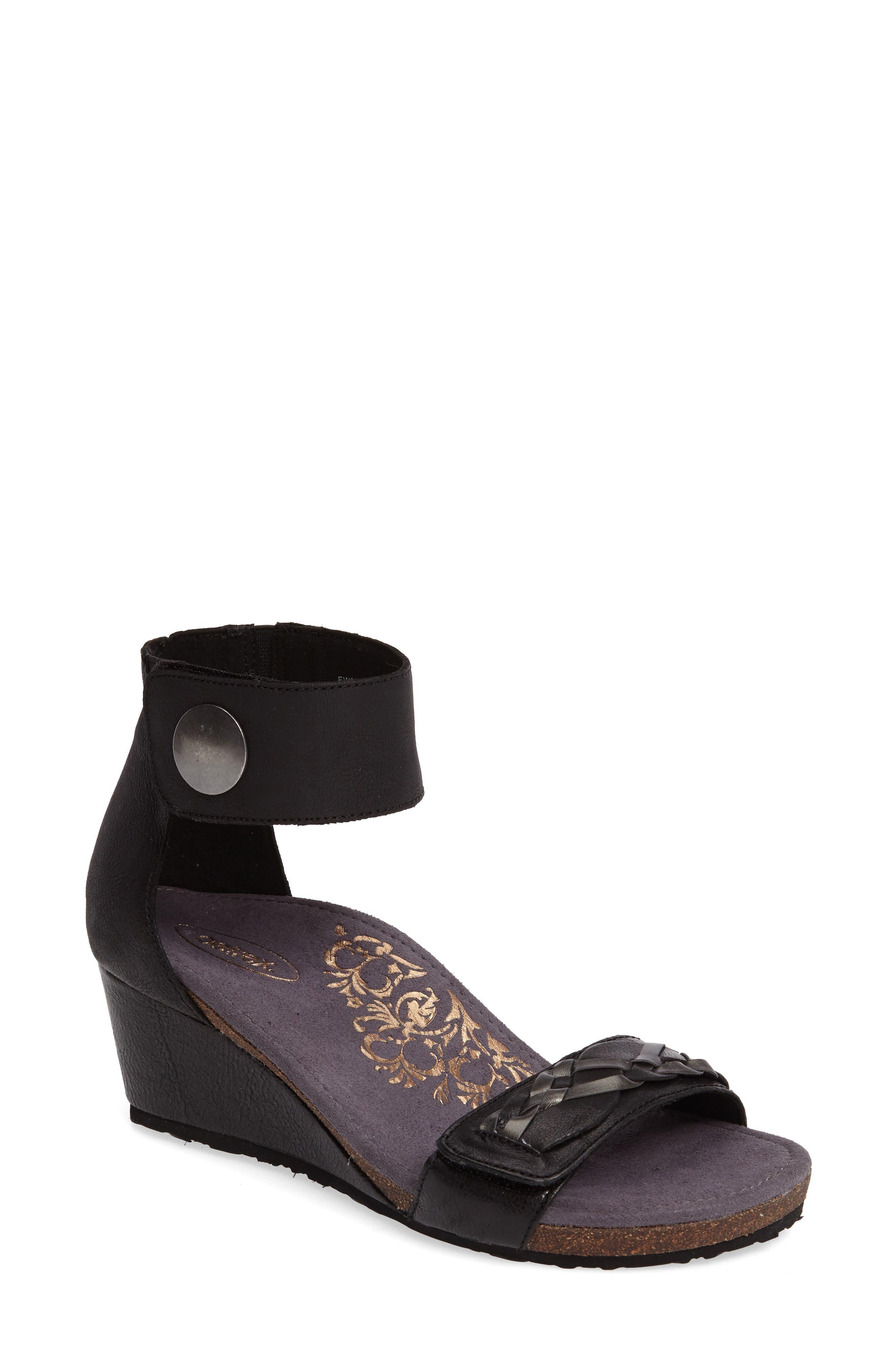 Aetrex Becca Cuff Wedge Sandal (Women)