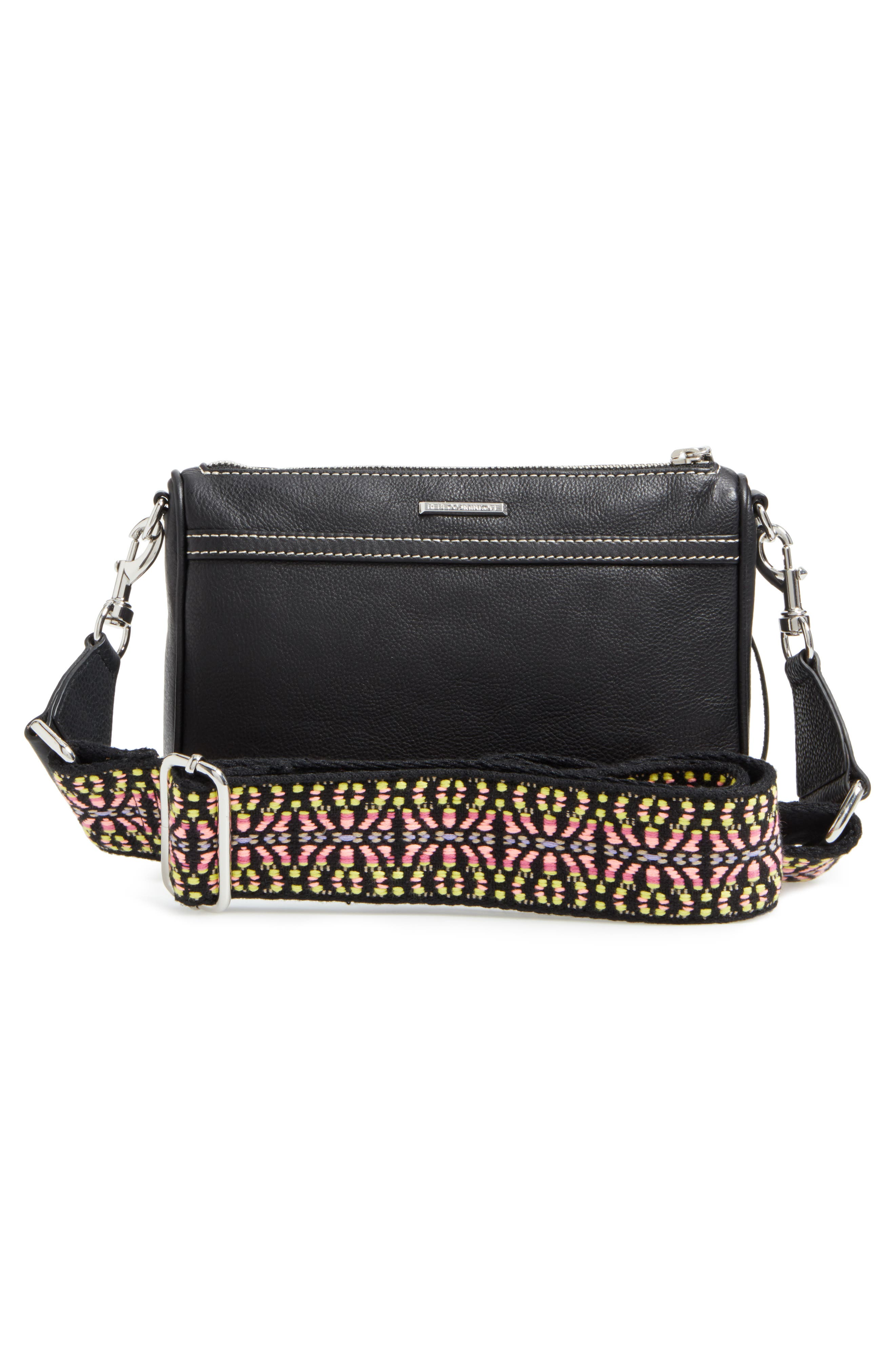 Alternate Image 3  - Rebecca Minkoff Mini MAC Leather Crossbody Bag with Guitar Strap (Nordstrom Exclusive)