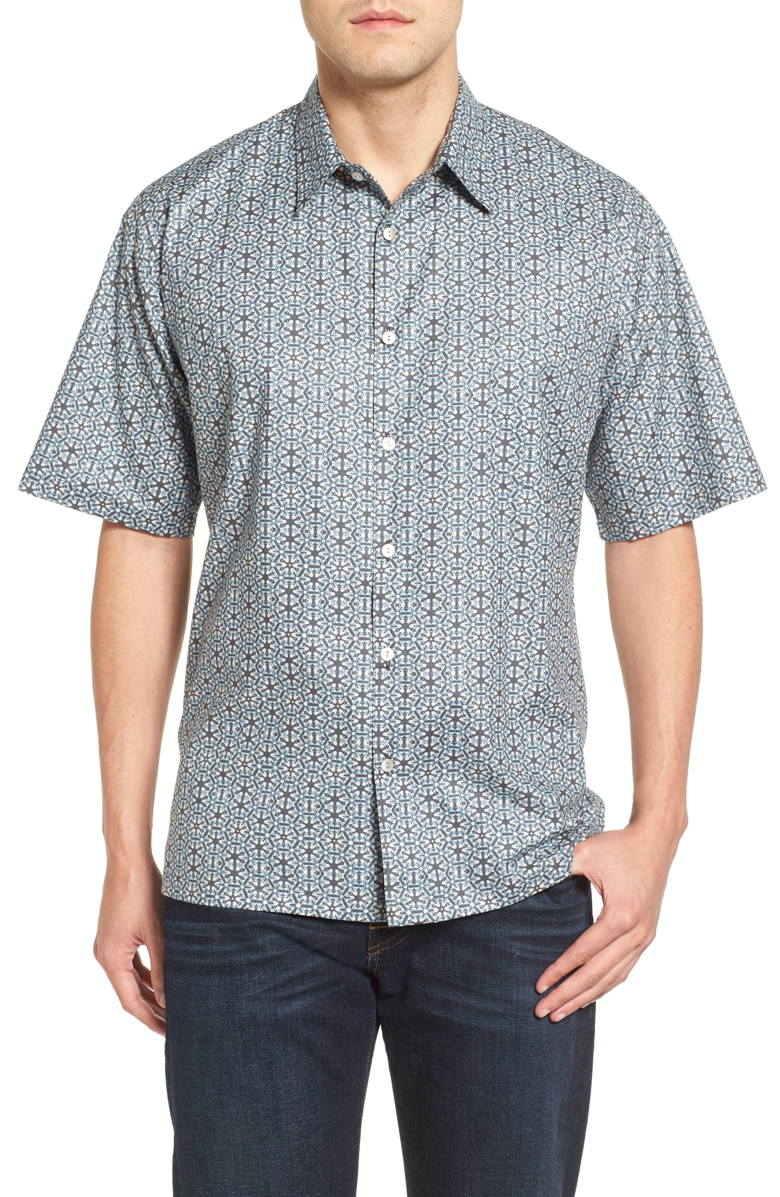 Tori Richard Concinnity Short Sleeve Classic Fit Sport Shirt