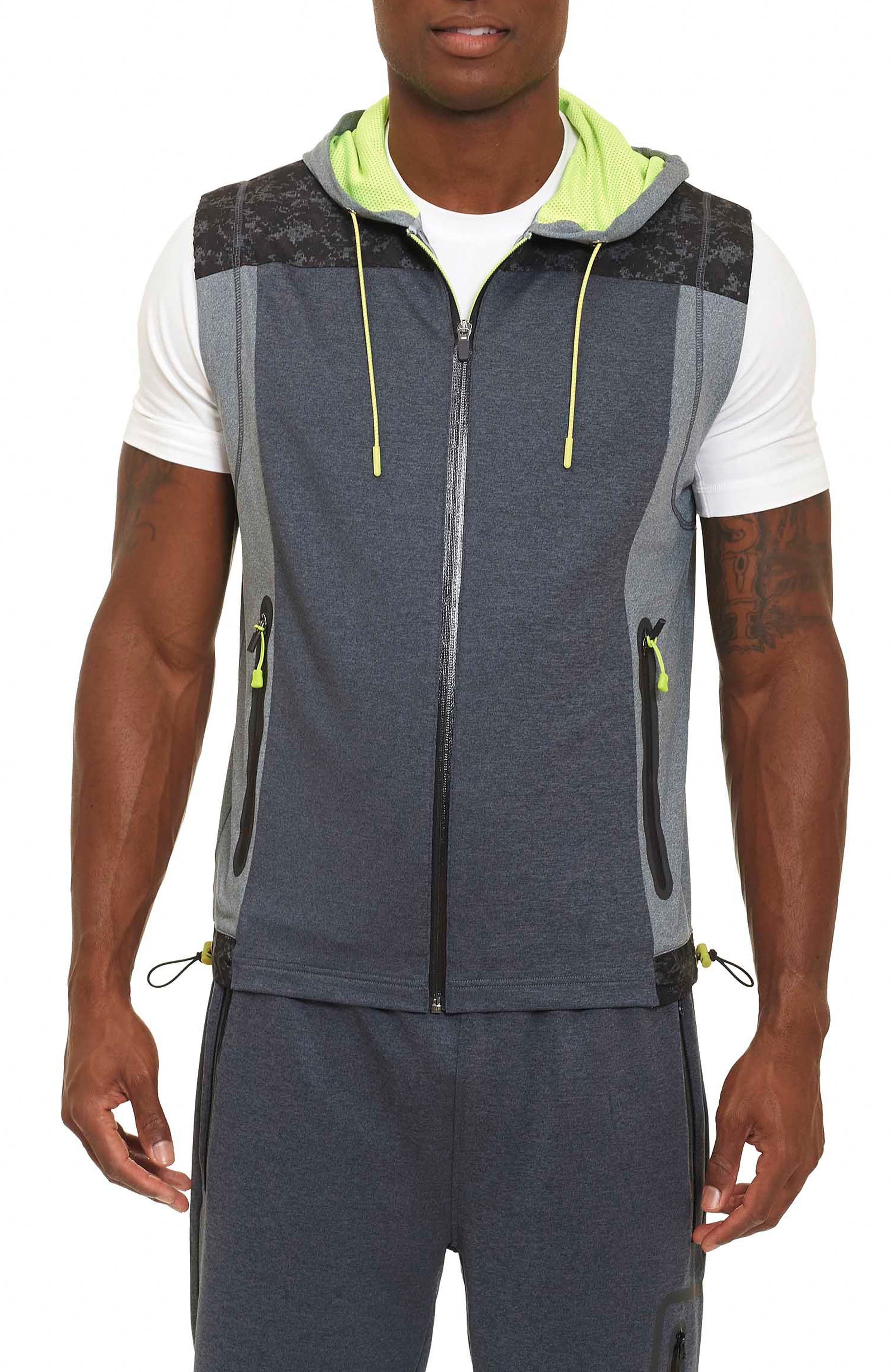 Robert Graham Kobi Knit Hooded Vest