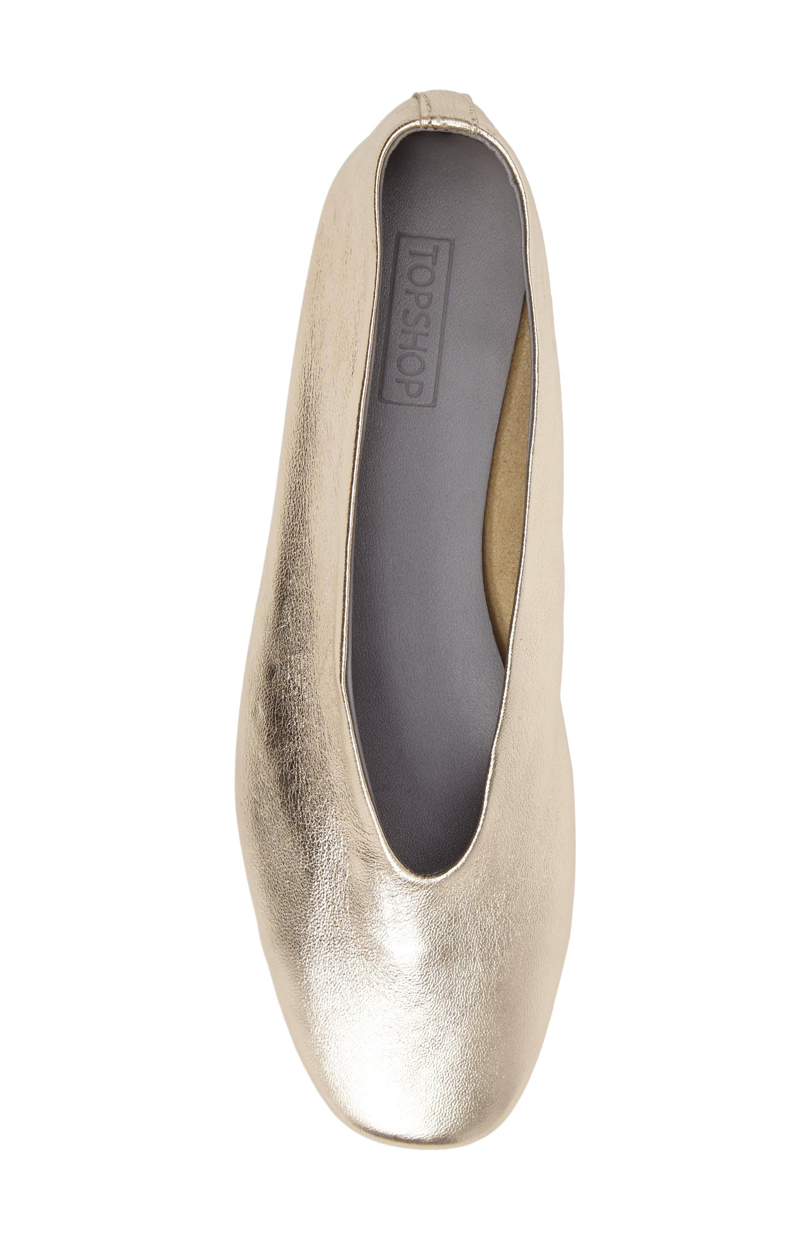 Alternate Image 5  - Topshop Kick Ballet Flat (Women)