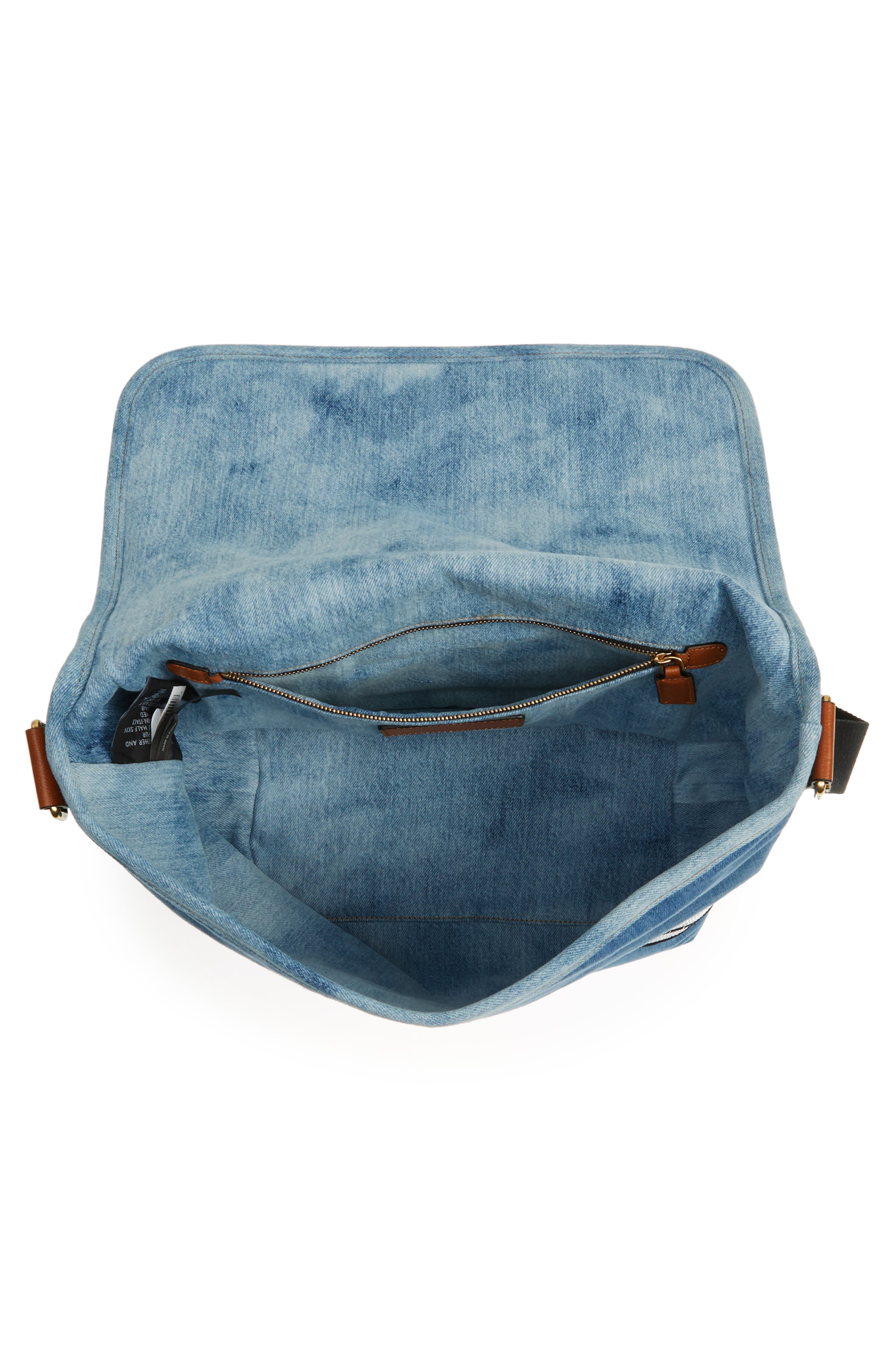 Alternate Image 3  - MARC JACOBS Denim Crossbody Bag