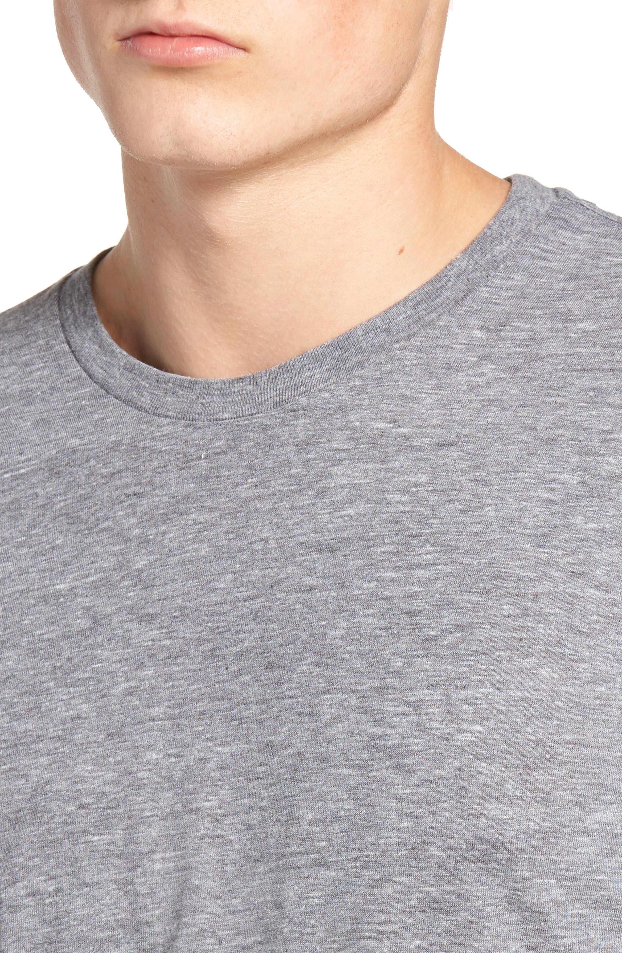 Alternate Image 4  - The Rail Slim Fit Crewneck T-Shirt