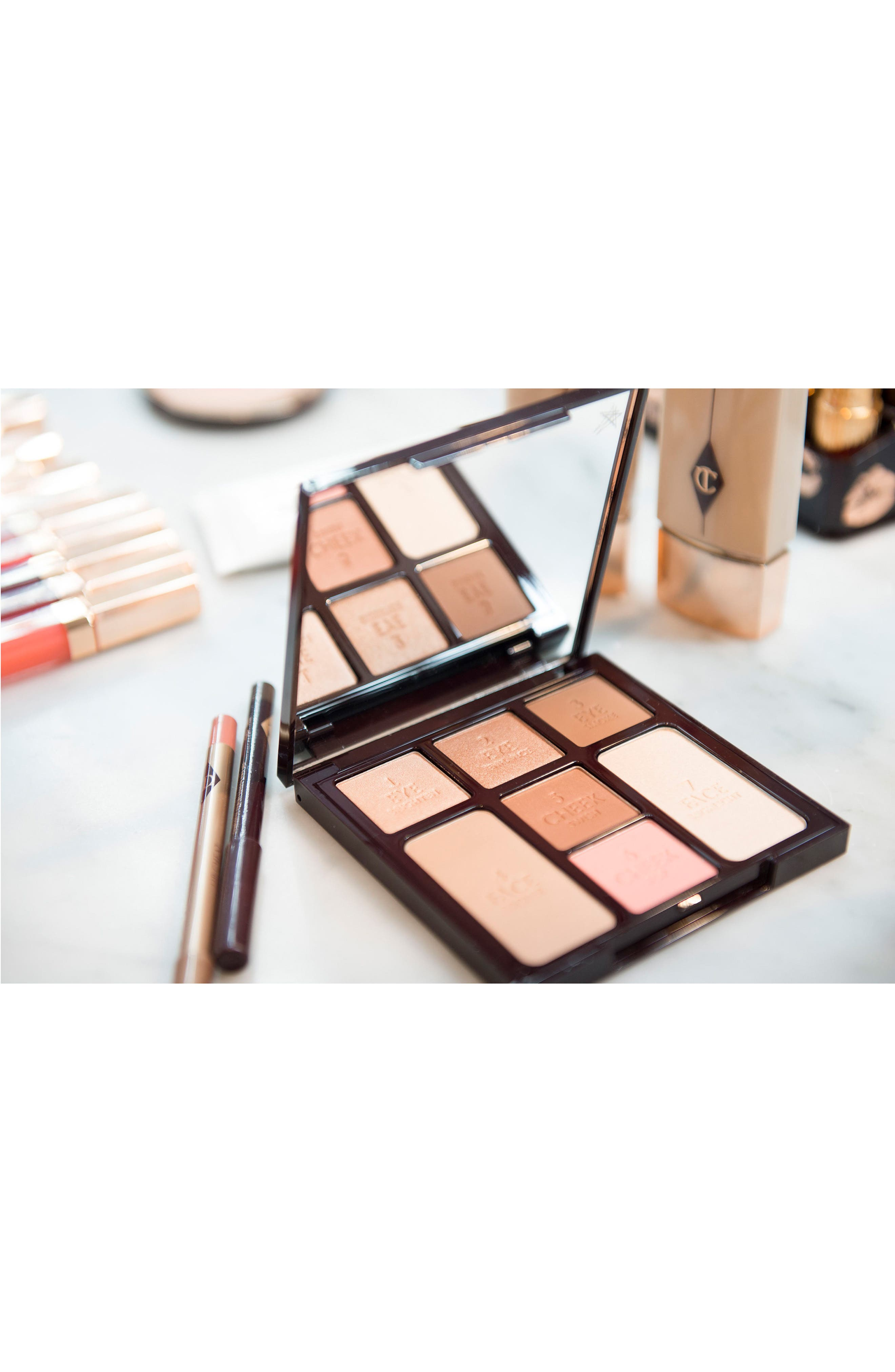 Alternate Image 7  - Charlotte Tilbury Instant Look in a Palette Beauty Glow