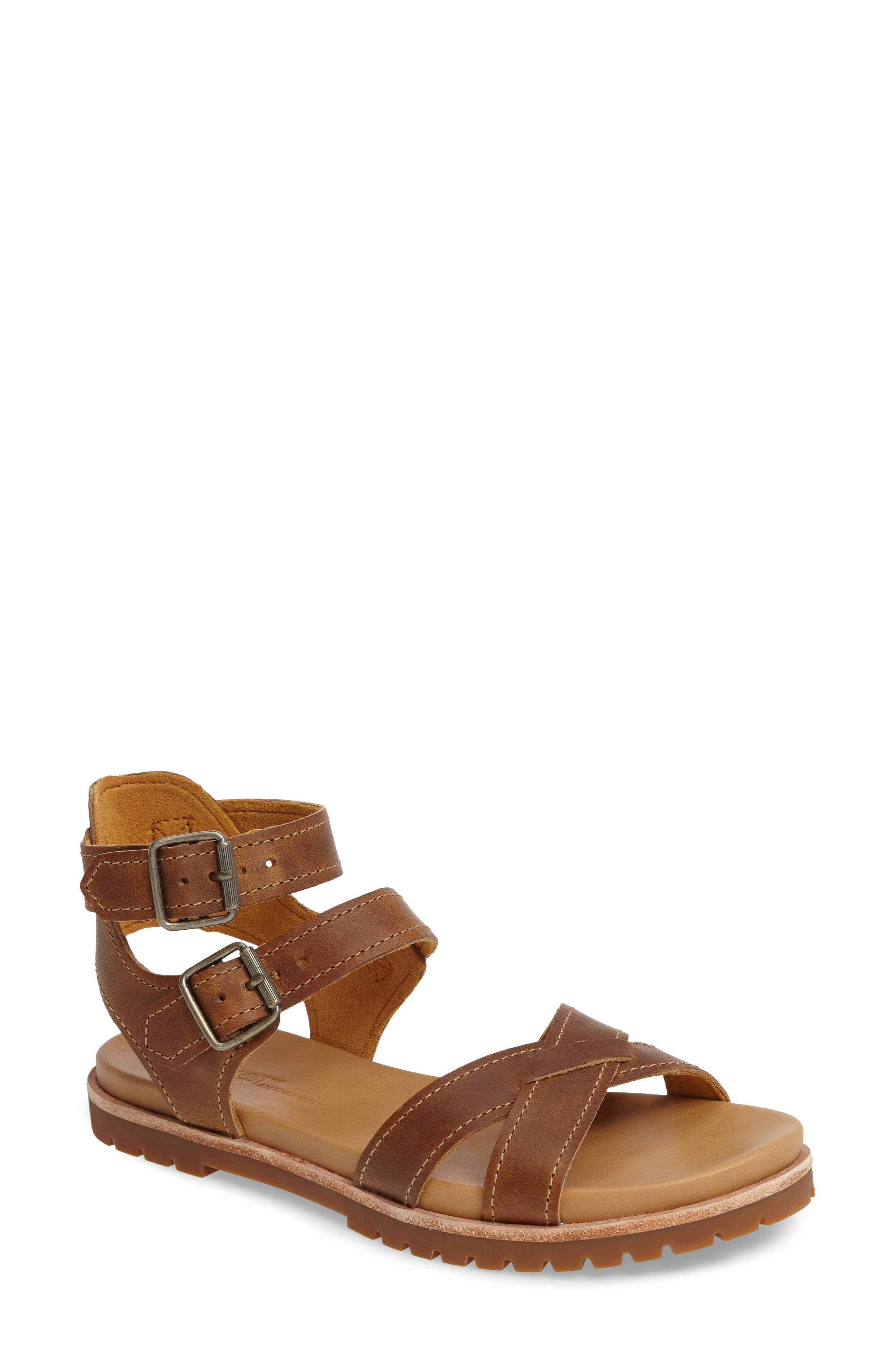 Timberland Natoma Ankle Strap Sandal (Women)
