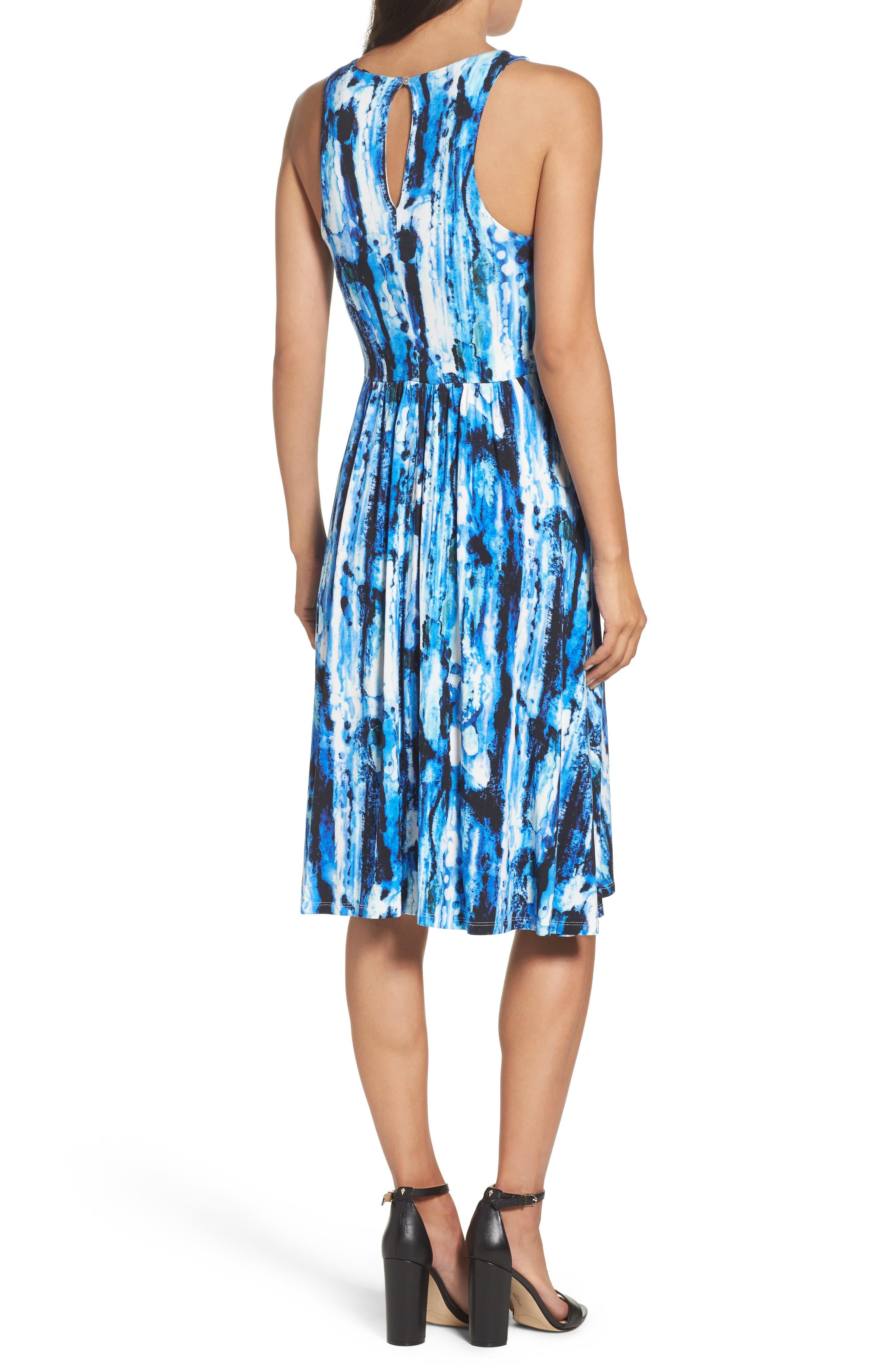 Alternate Image 2  - Felicity & Coco Print Fit & Flare Dress (Regular & Petite) (Nordstrom Exclusive)