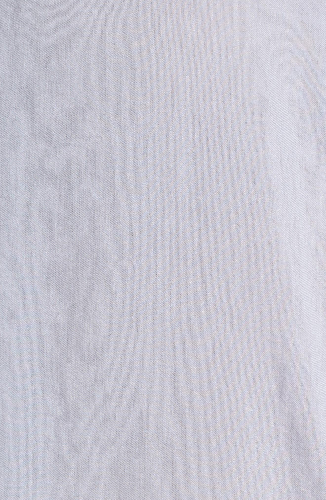 Alternate Image 5  - Treasure & Bond Drapey Classic Shirt