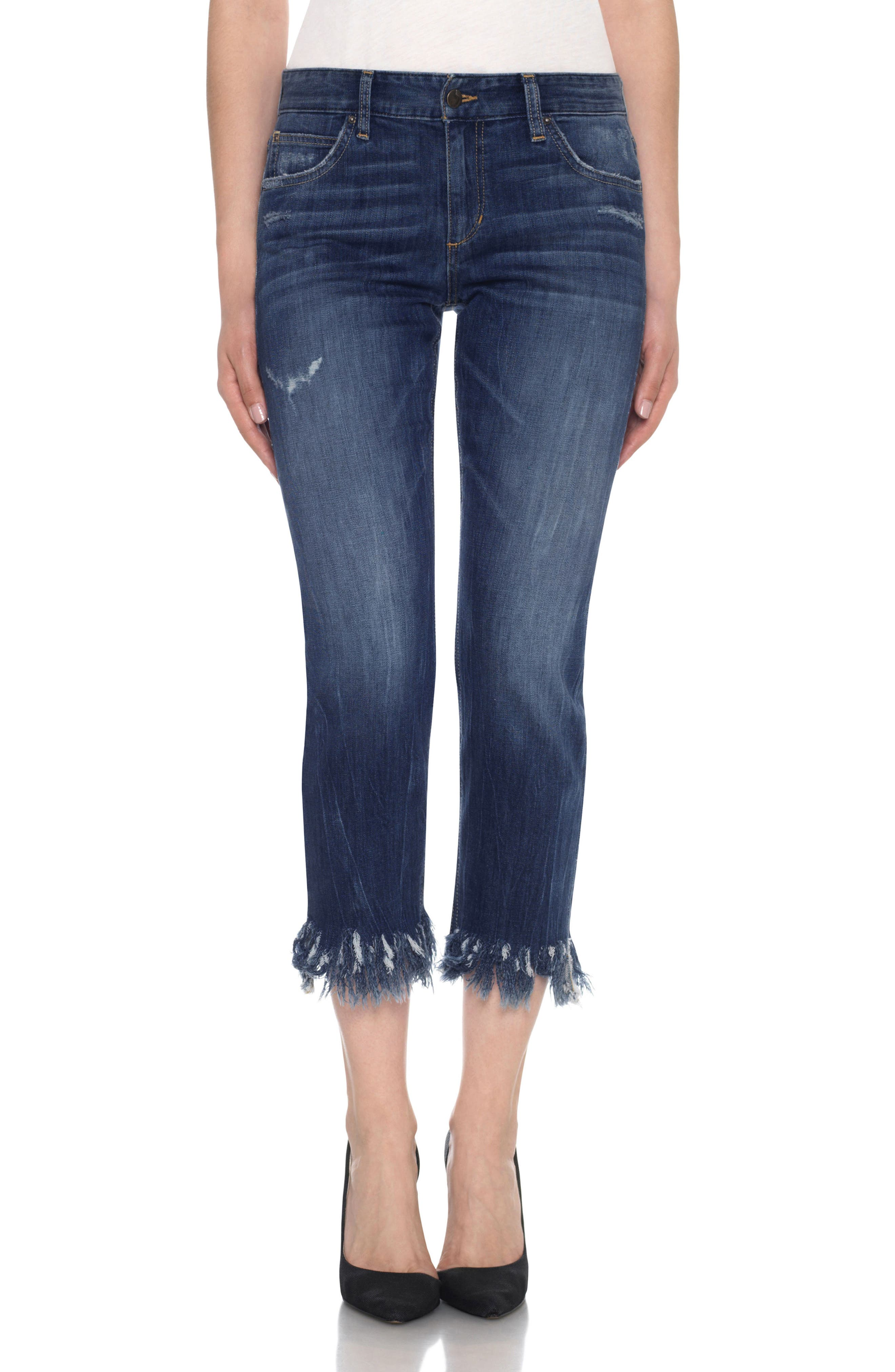 Joe's Collector's - Ex-Lover Crop Straight Leg Boyfriend Jeans (Brandee)