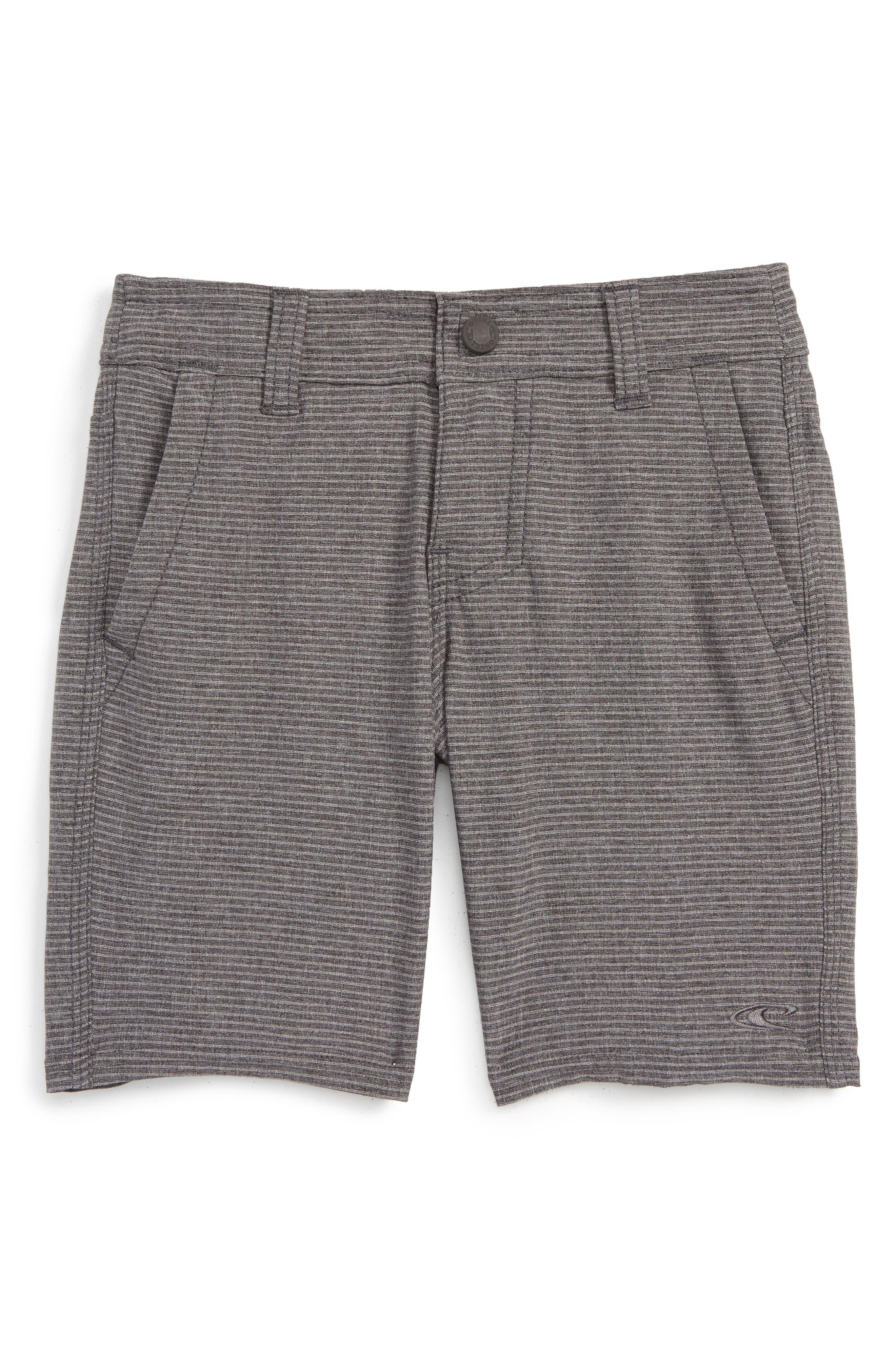 O'Neill Locked Stripe Hybrid Shorts (Toddler Boys & Little Boys)