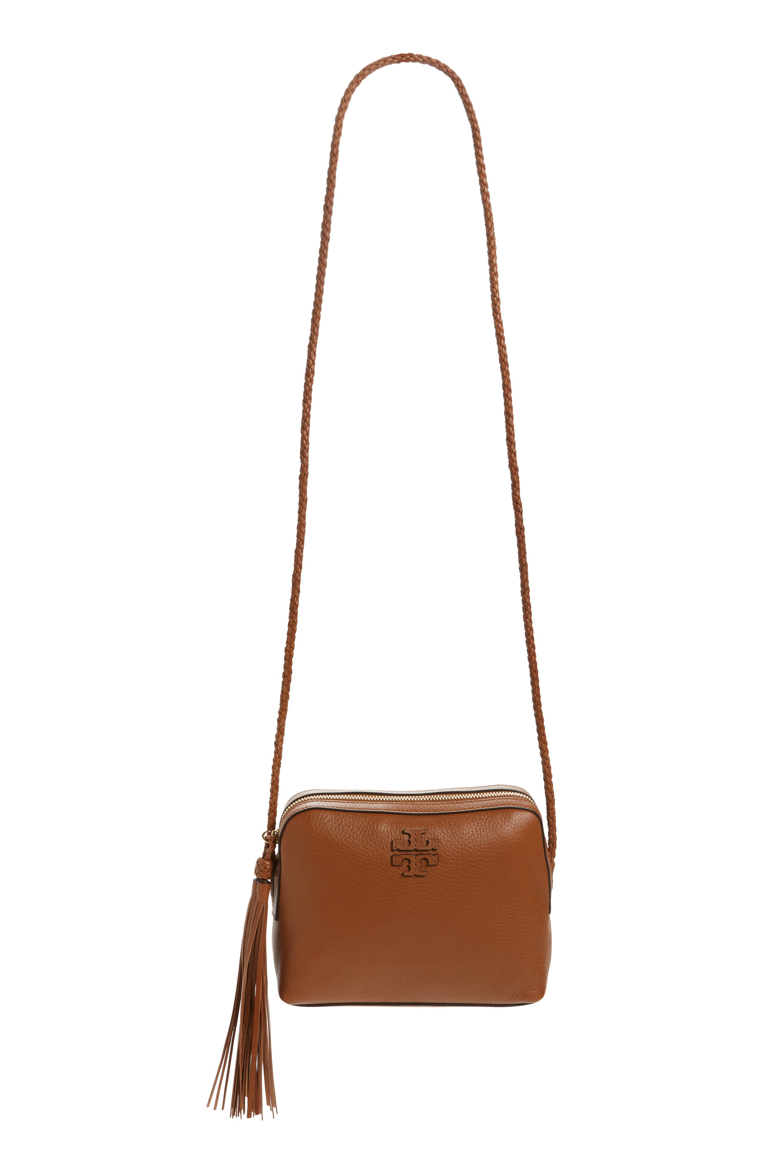 Main Image - Tory Burch Taylor Leather Camera Bag