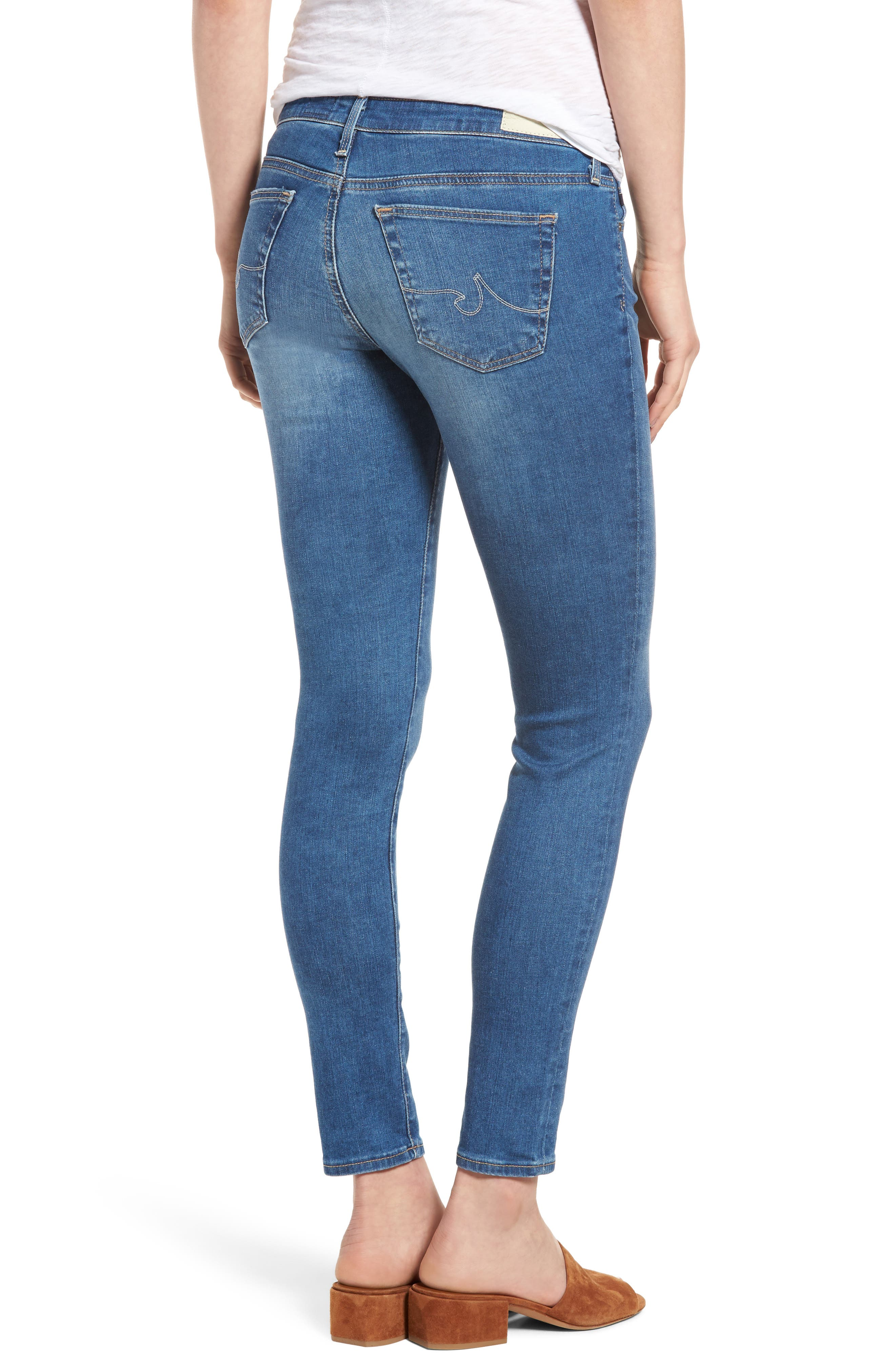 Alternate Image 2  - AG The Legging Ankle Jeans (Emanate)