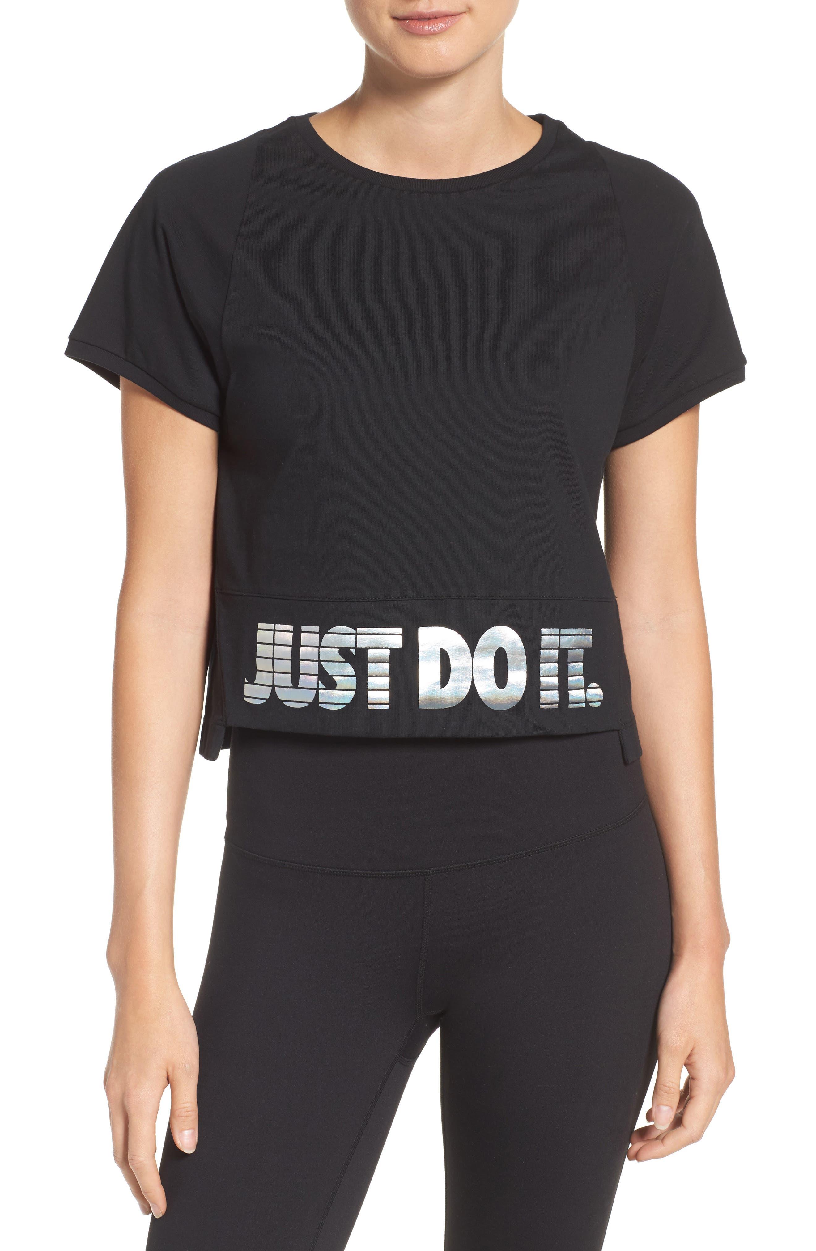 Nike Sportswear Hologram Crop Tee