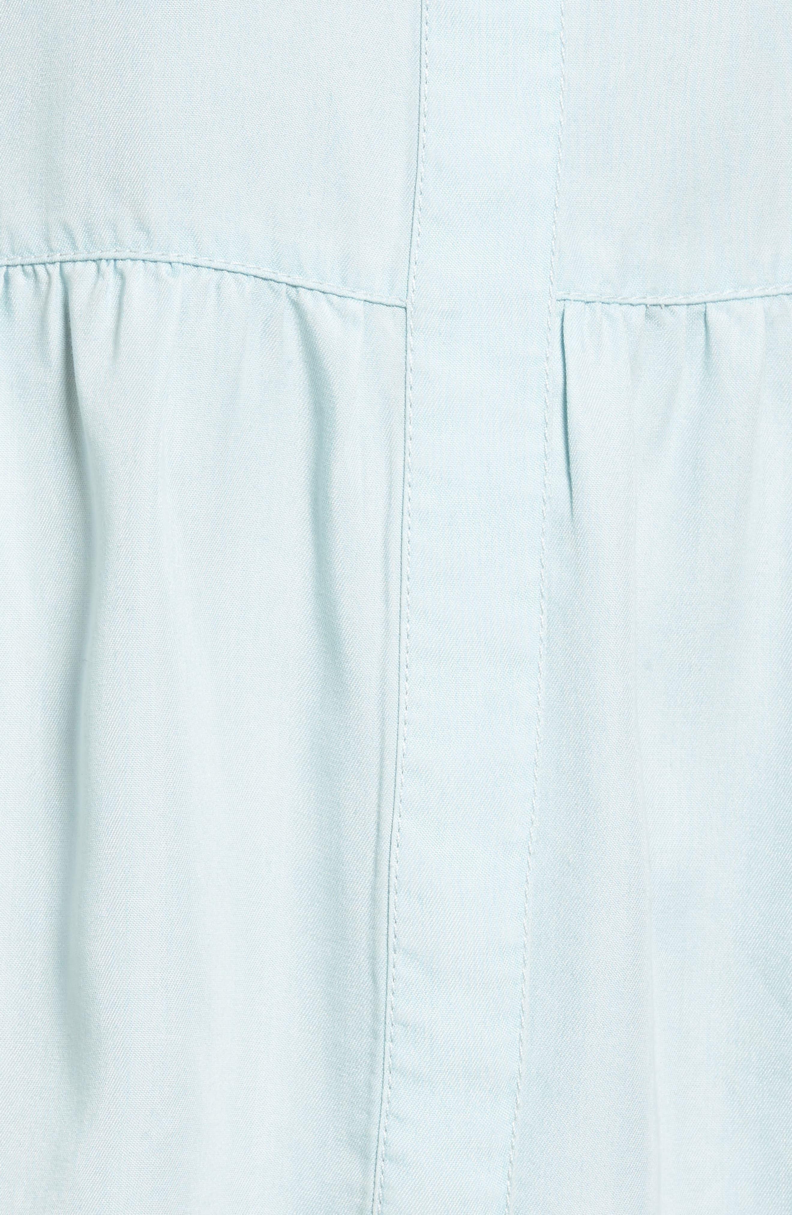 Alternate Image 5  - Caslon® Peplum Shirt (Regular & Petite)