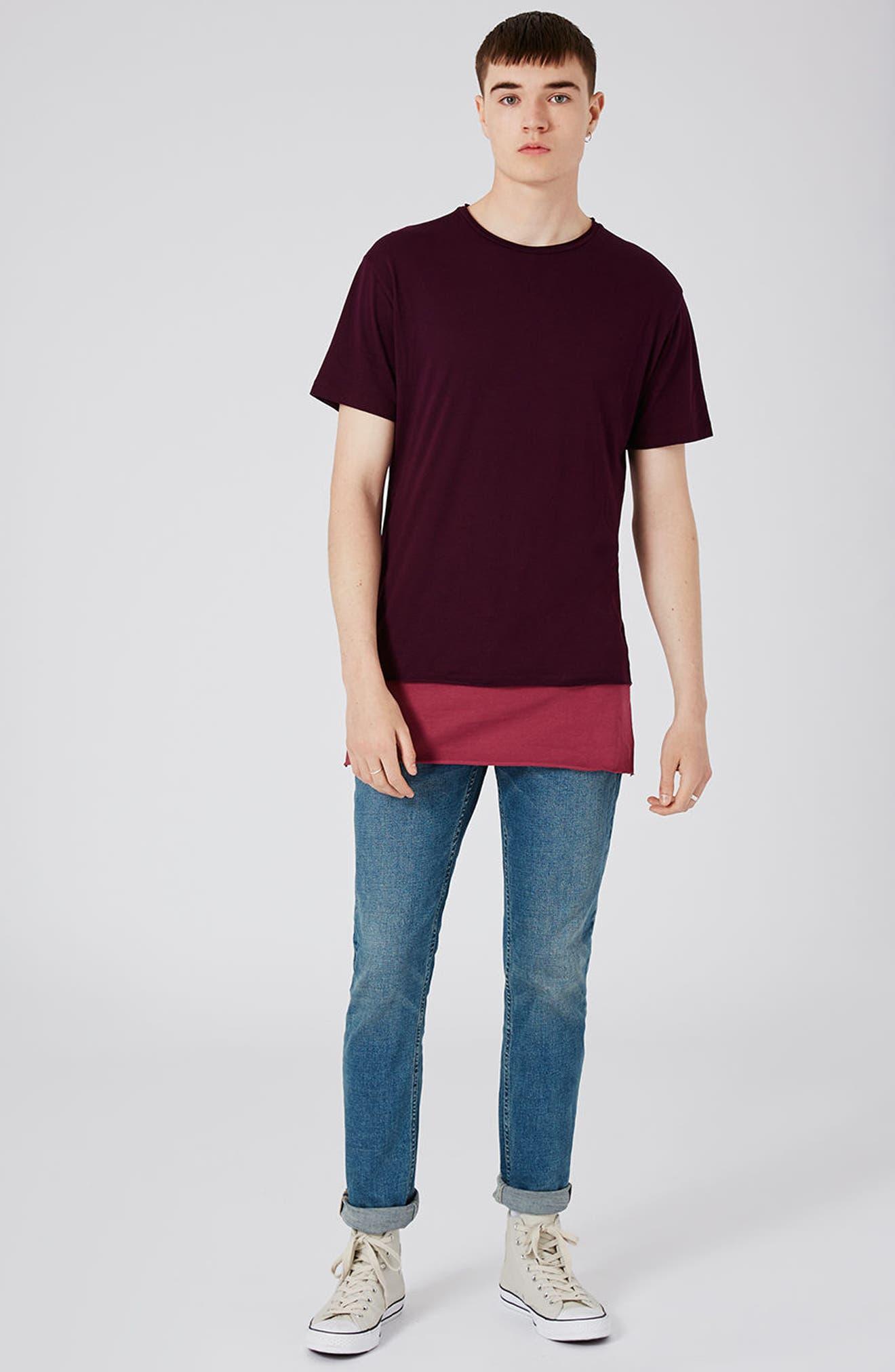 Alternate Image 2  - Topman Stretch Slim Fit Jeans