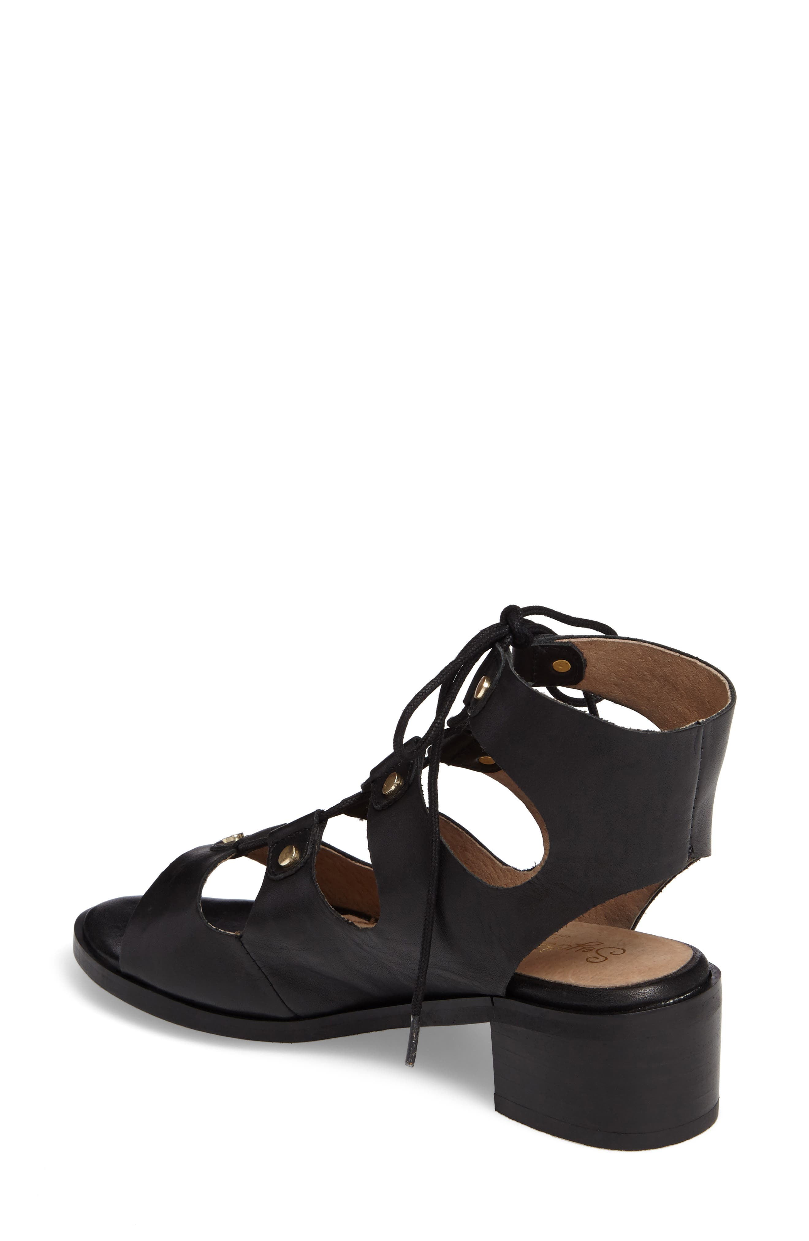 Alternate Image 2  - Seychelles Love Affair Lace-Up Sandal (Women)