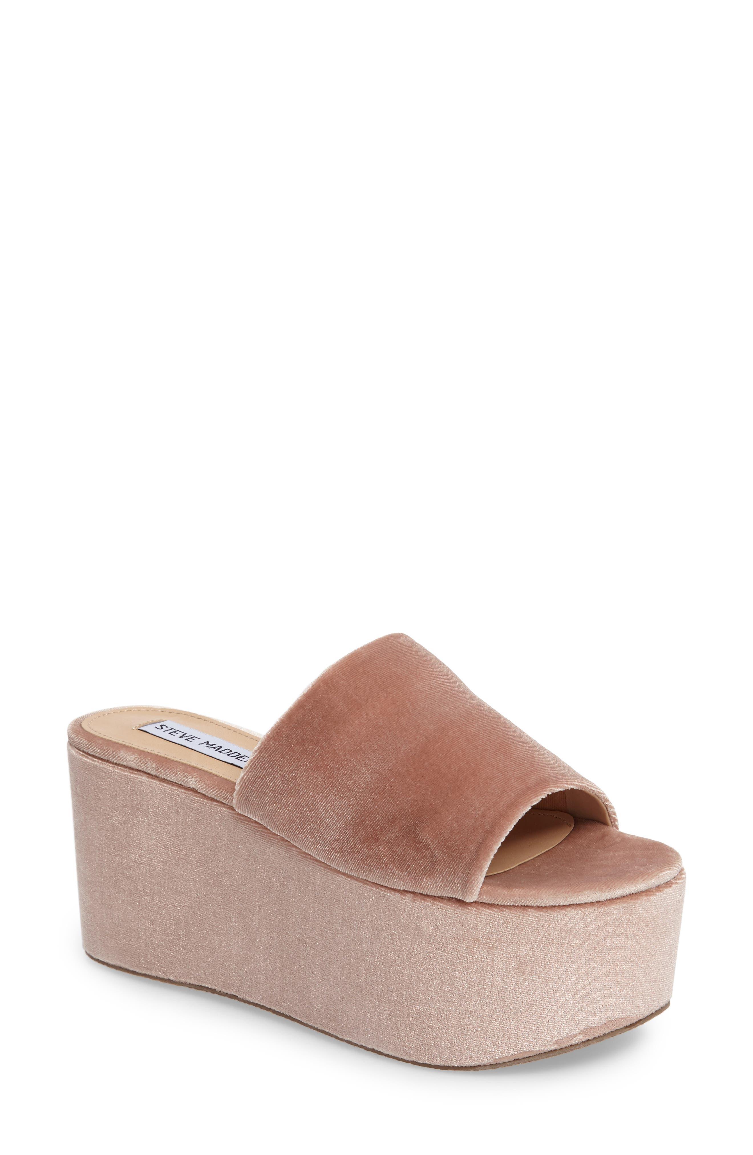 Steve Madden Harlow Platform Sandal (Women)
