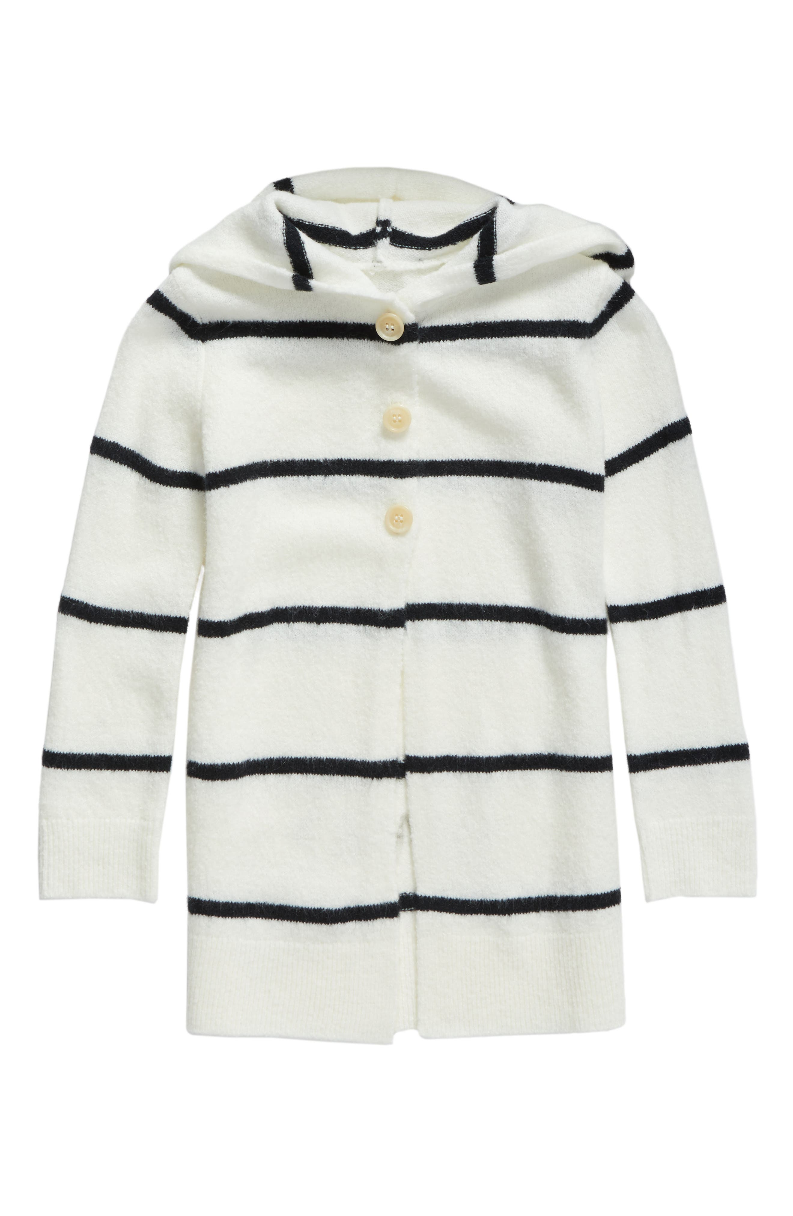 Tucker + Tate Hooded Cardigan (Toddler Girls, Little Girls & Big Girls)