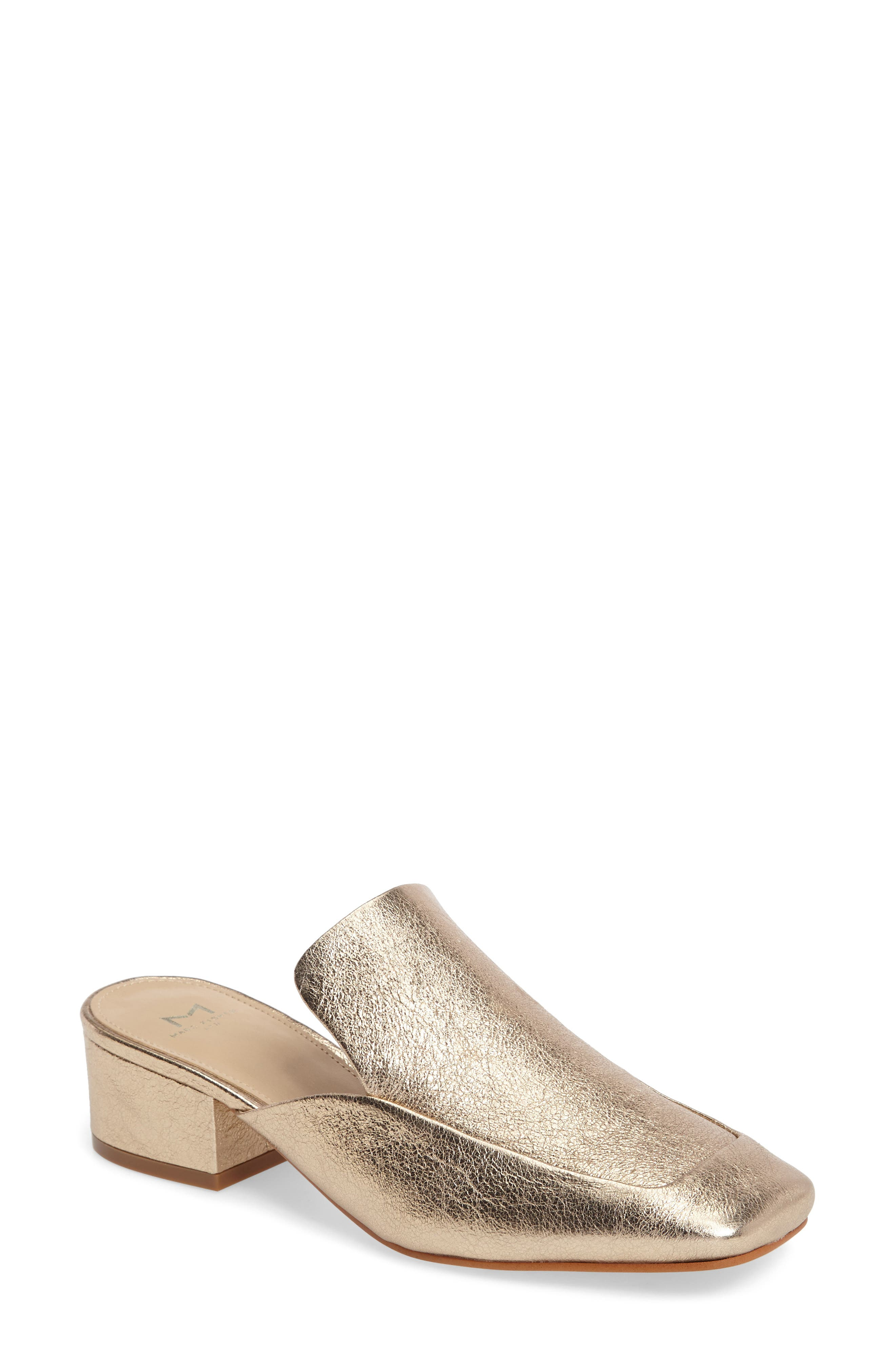 Marc Fisher LTD Lailey Block Heel Mule (Women)