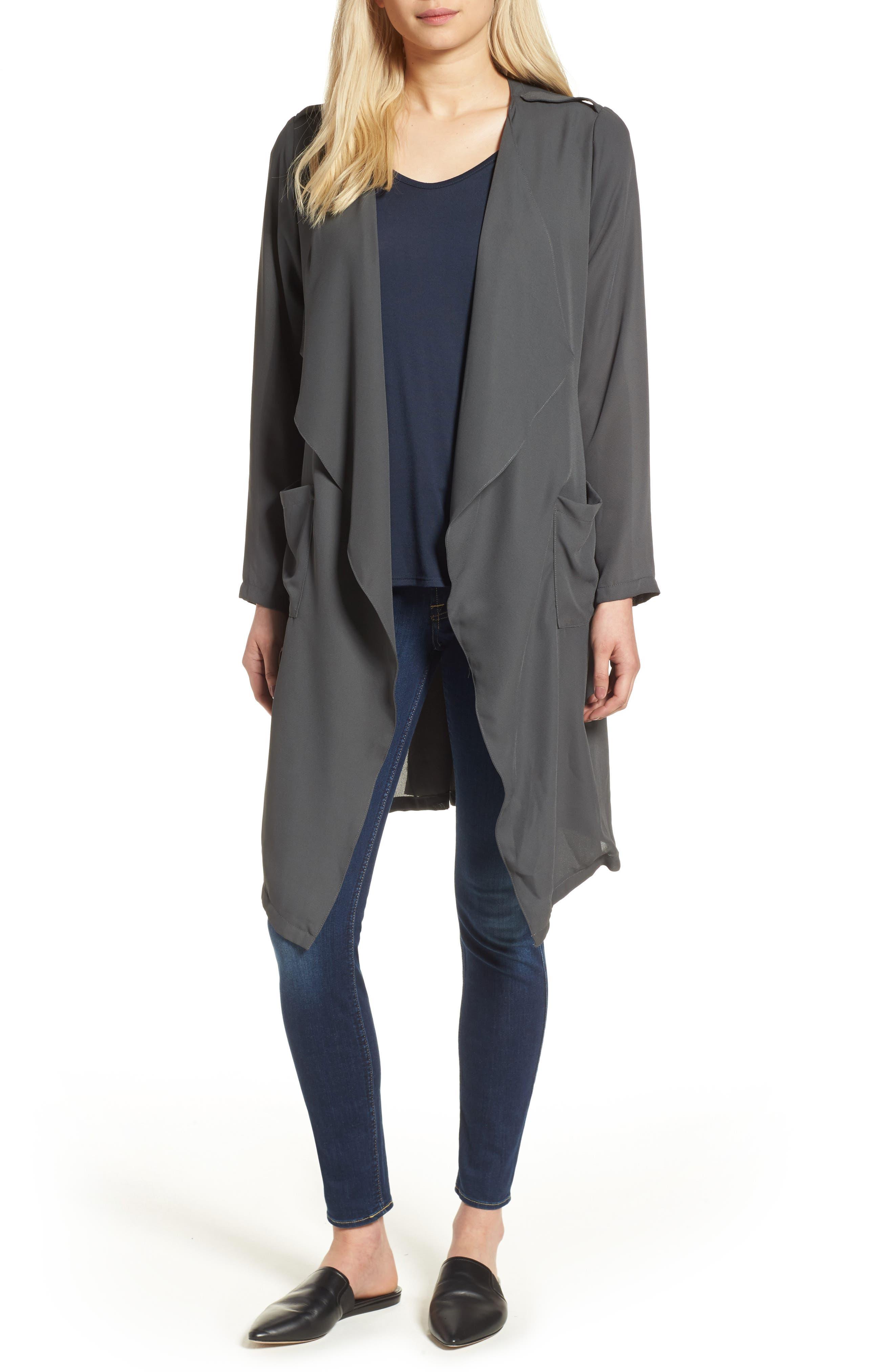 Main Image - Trouvé Slouchy Jacket