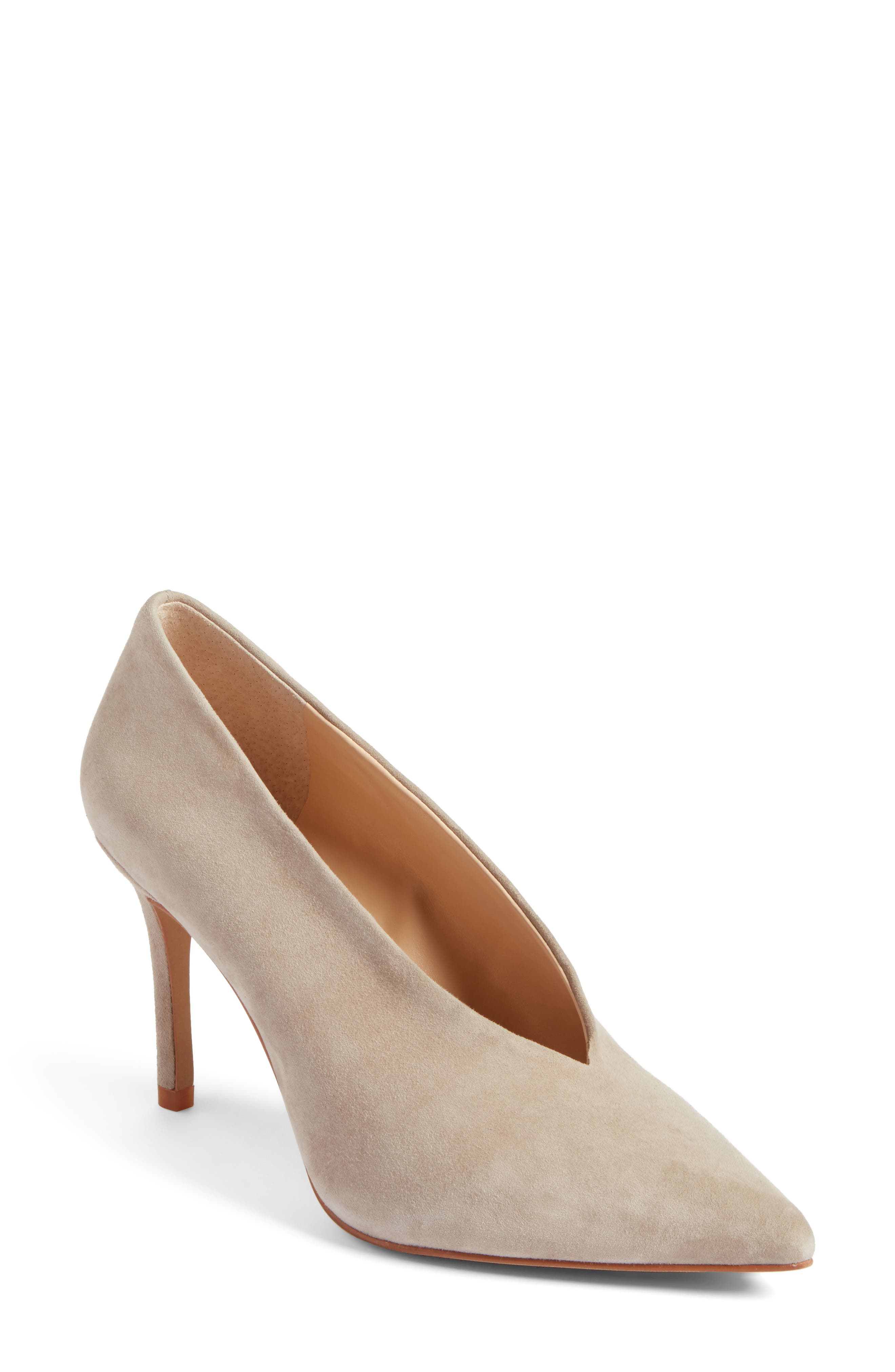 Alternate Image 1 Selected - Vince Camuto Ankia Suede Pump (Women) (Nordstrom Exclusive)