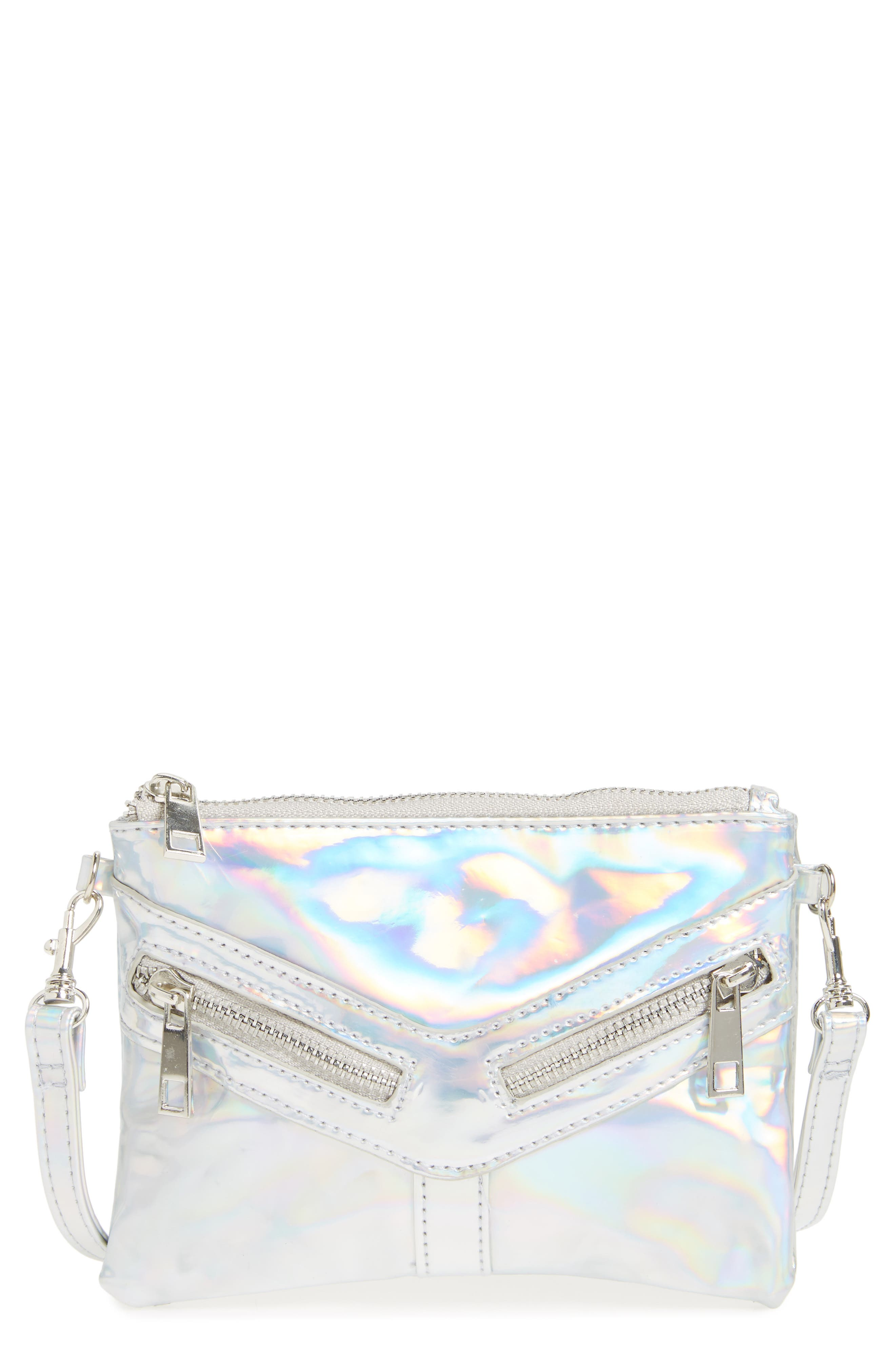 Capelli of New York Hologram Crossbody Bag (Girls)