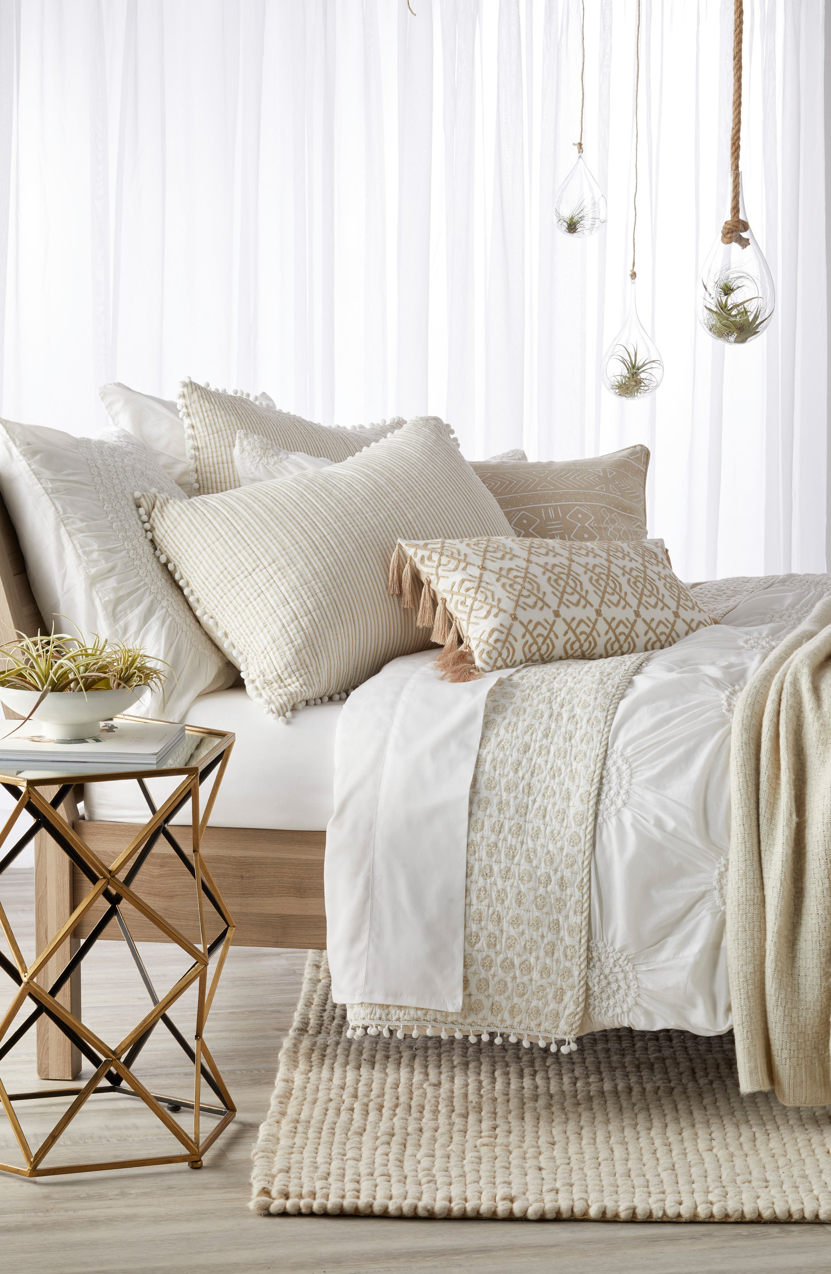 Nordstrom at Home 'Chloe' Duvet & Levtex Bedford Quilt Bedding Collection