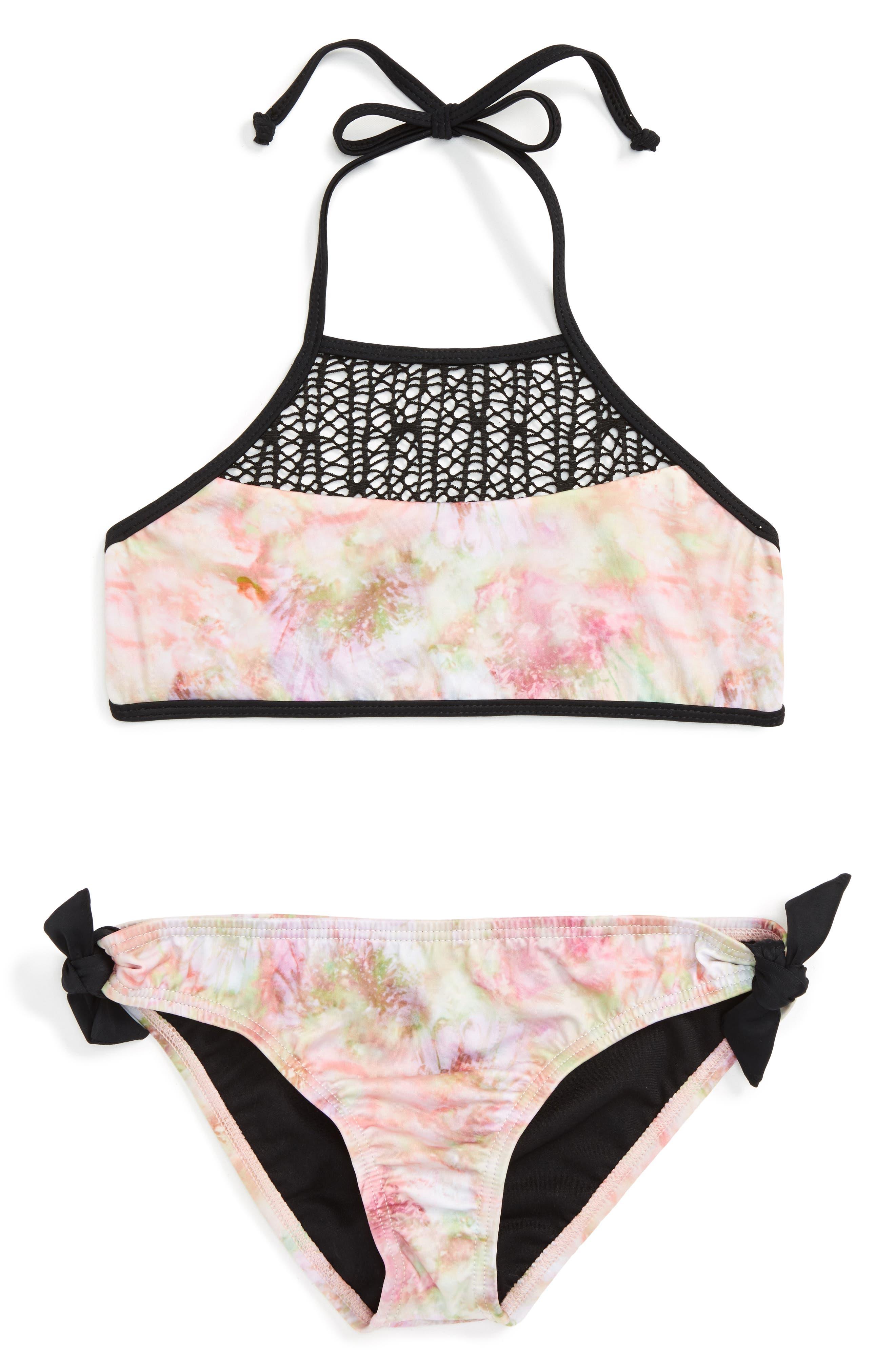 Reef Sunshine Daydreamer Two-Piece Swimsuit (Big Girls)