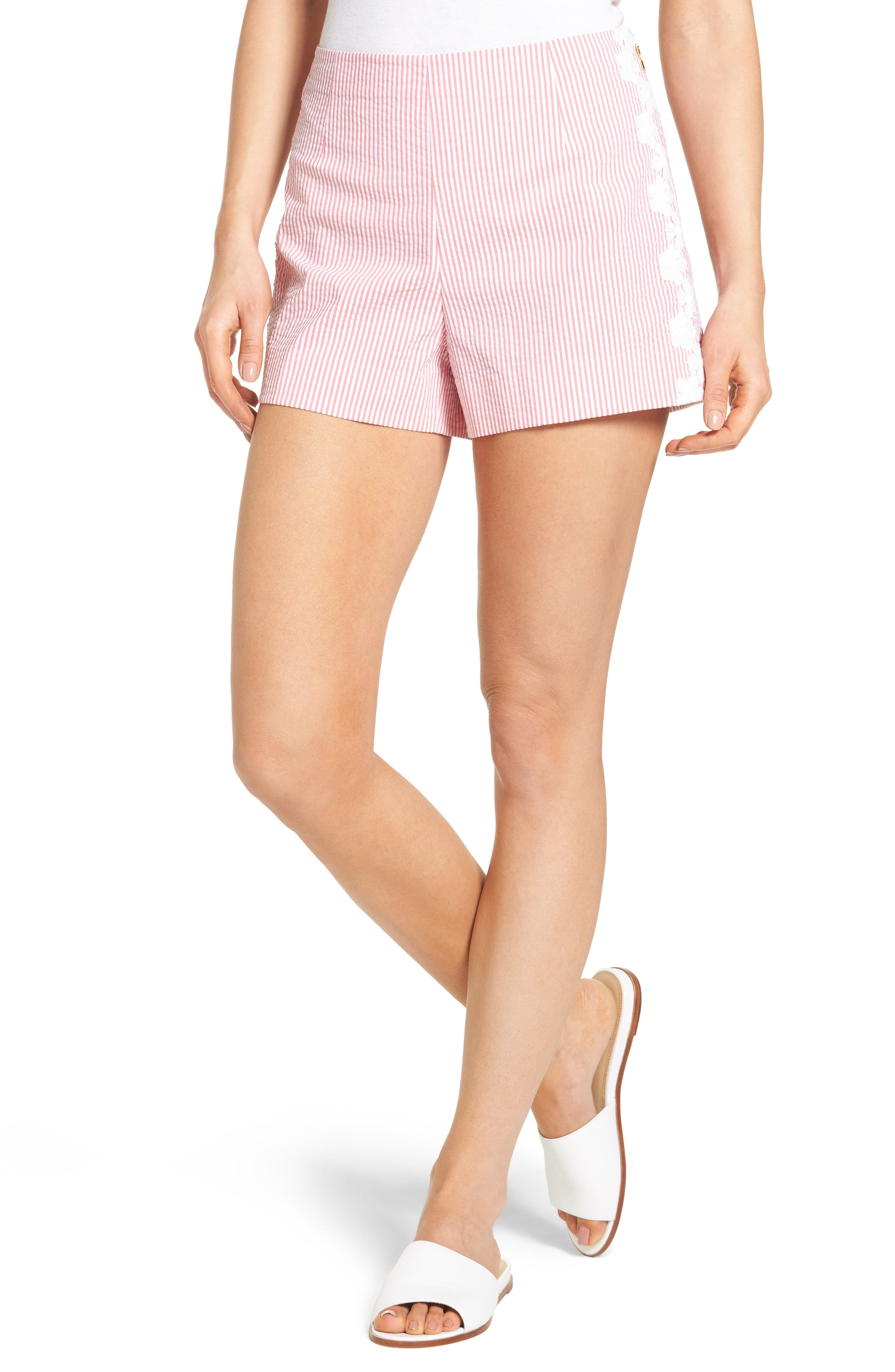 Draper James Seersucker Shorts (Nordstrom Exclusive)