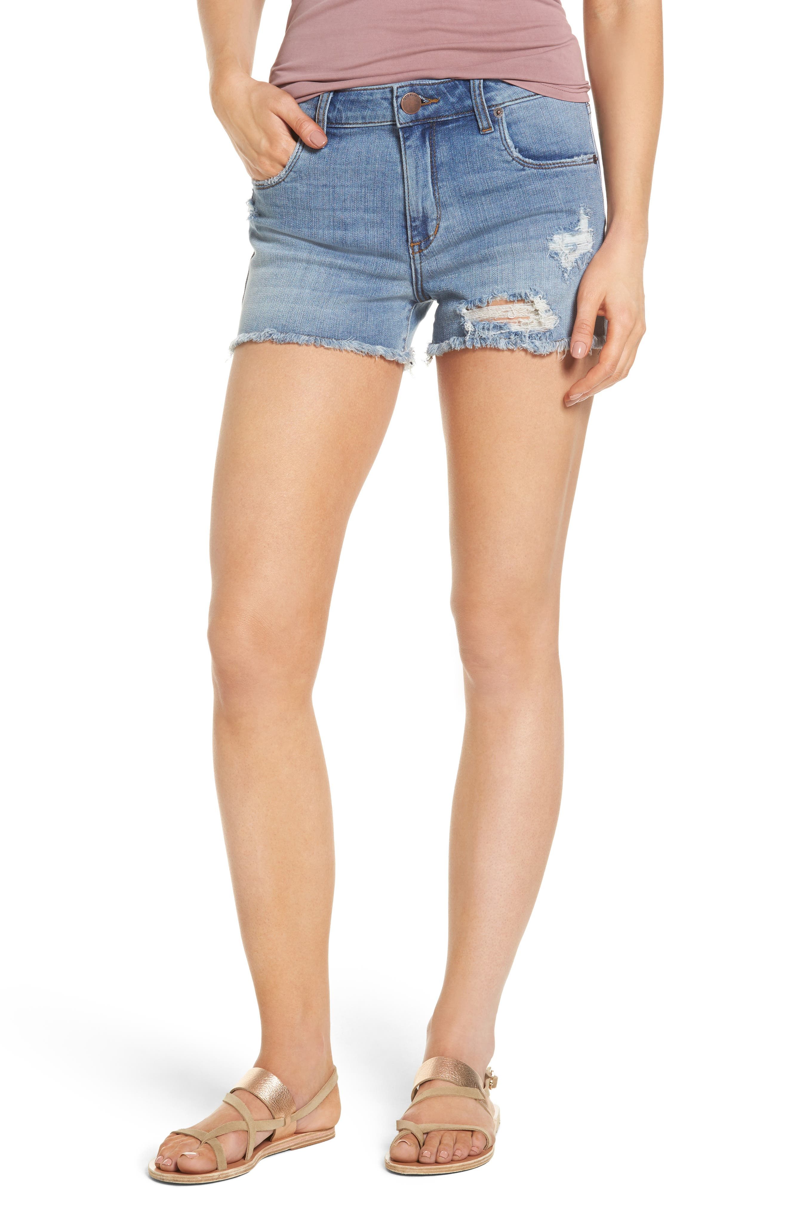 STS Blue Ripped Denim Shorts (Barclay)