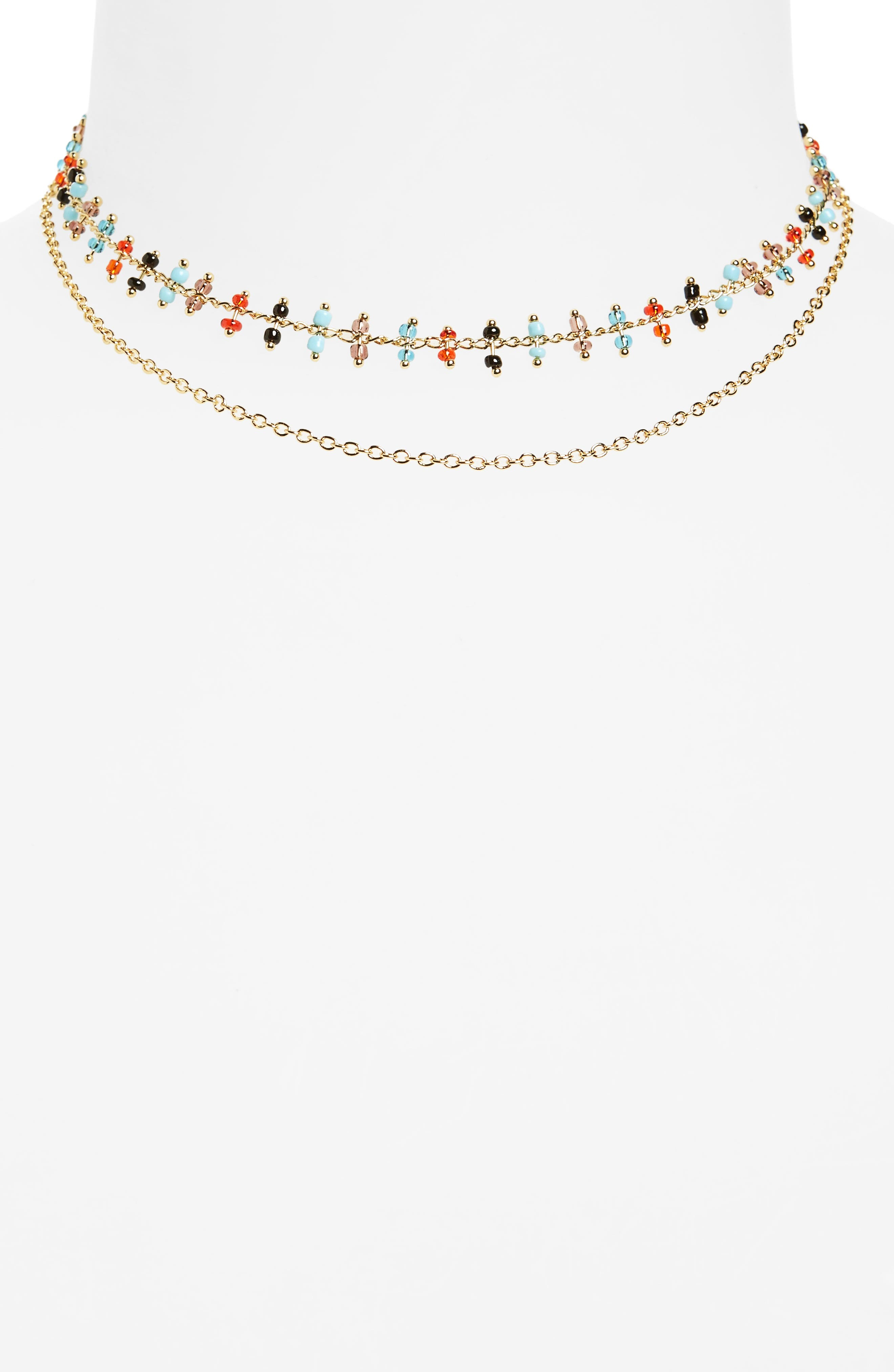 Elizabeth and James Rosa Marie Multistrand Necklace