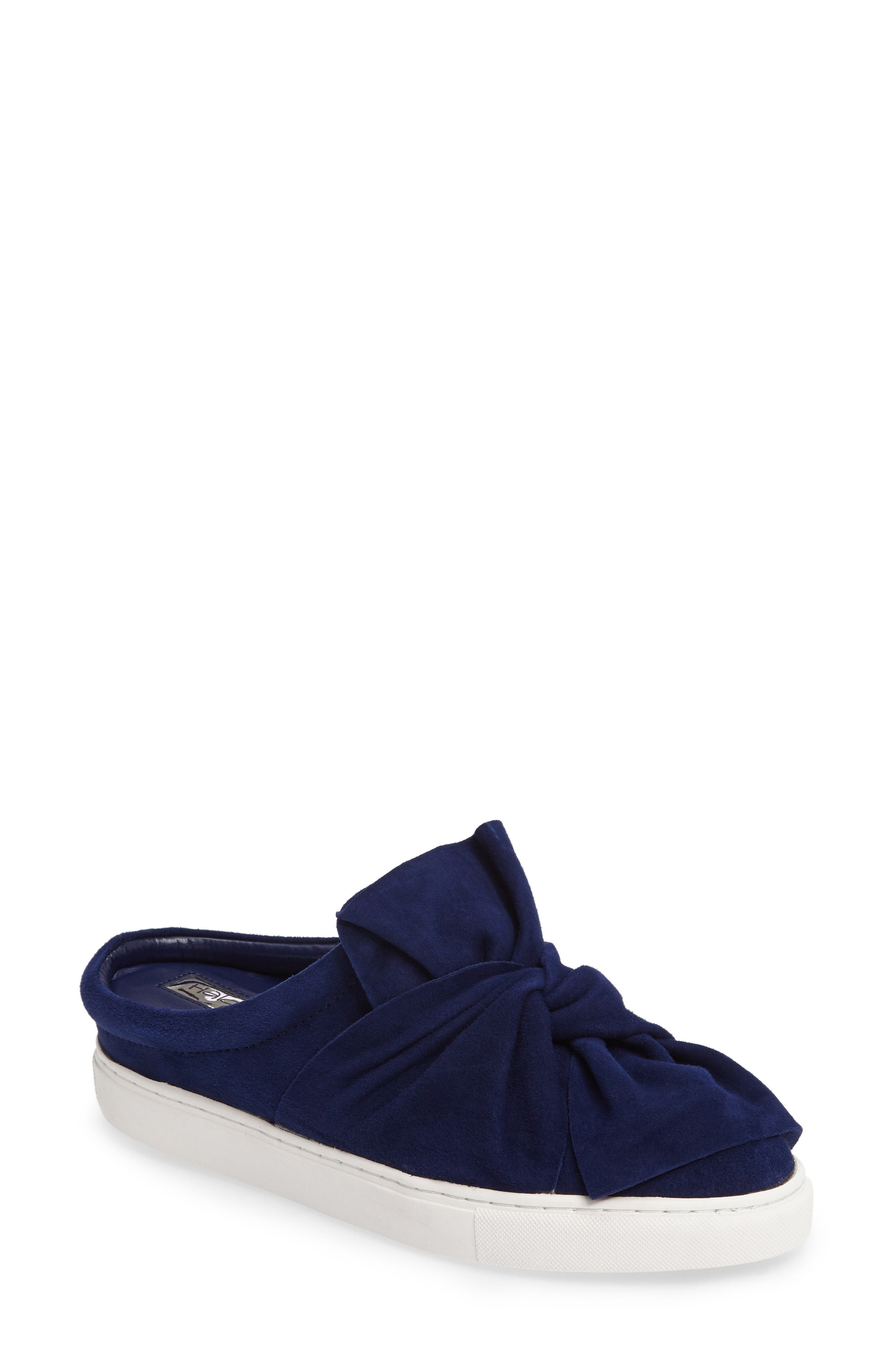 Alternate Image 1 Selected - Halogen® Manny Knotted Slip-On Sneaker (Women)