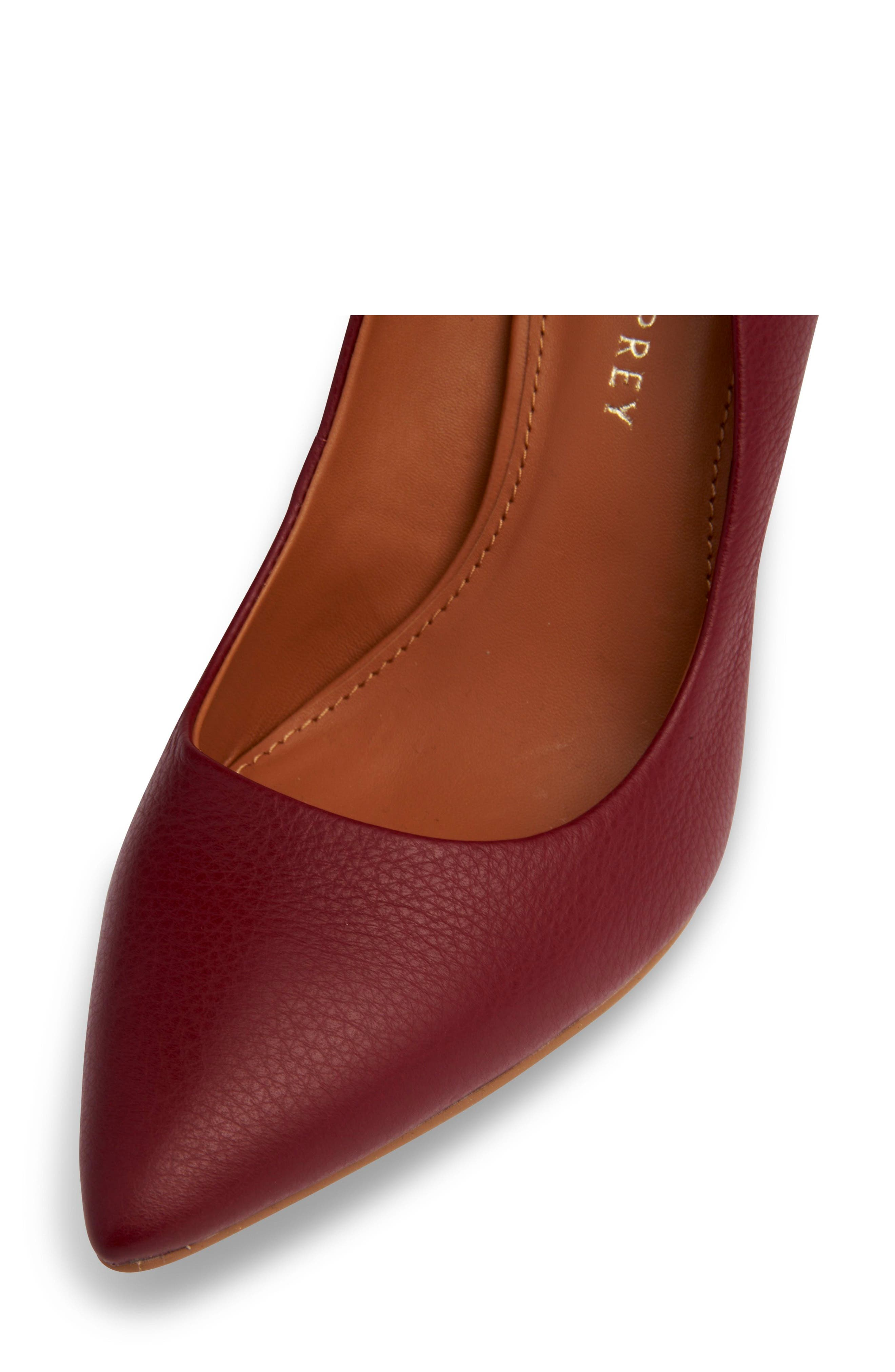 Alternate Image 5  - Shoes of Prey Pointy Toe Pump (Women)