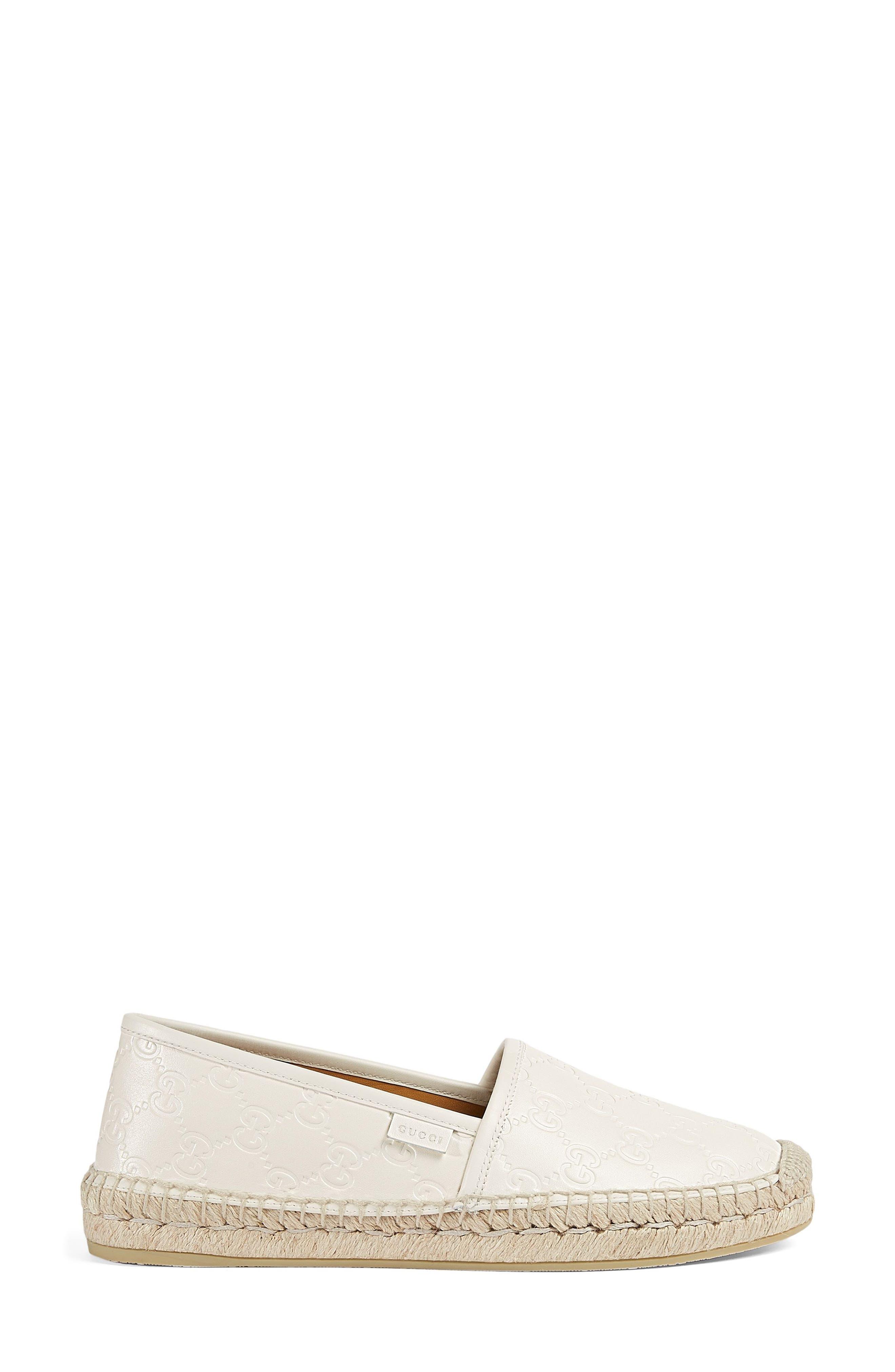 Alternate Image 1 Selected - Gucci Pilar Espadrille Flat (Women)