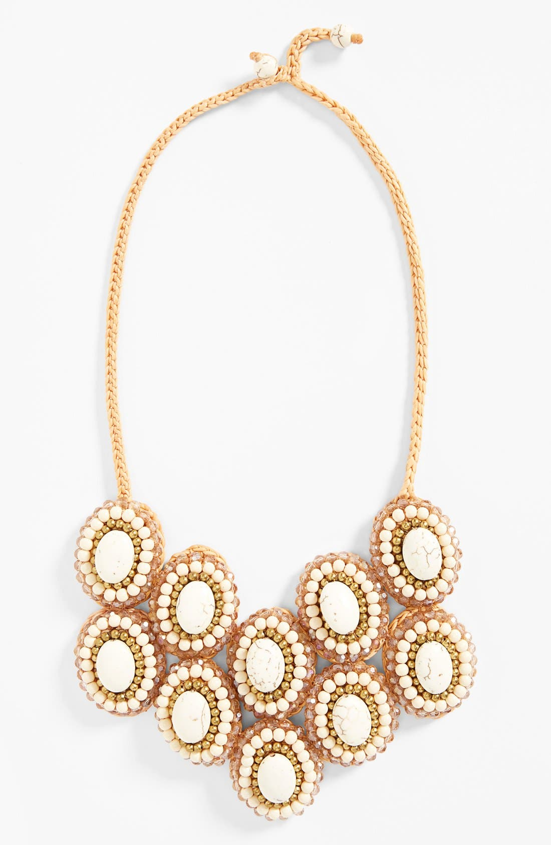 Main Image - Panacea Howlite Bib Necklace