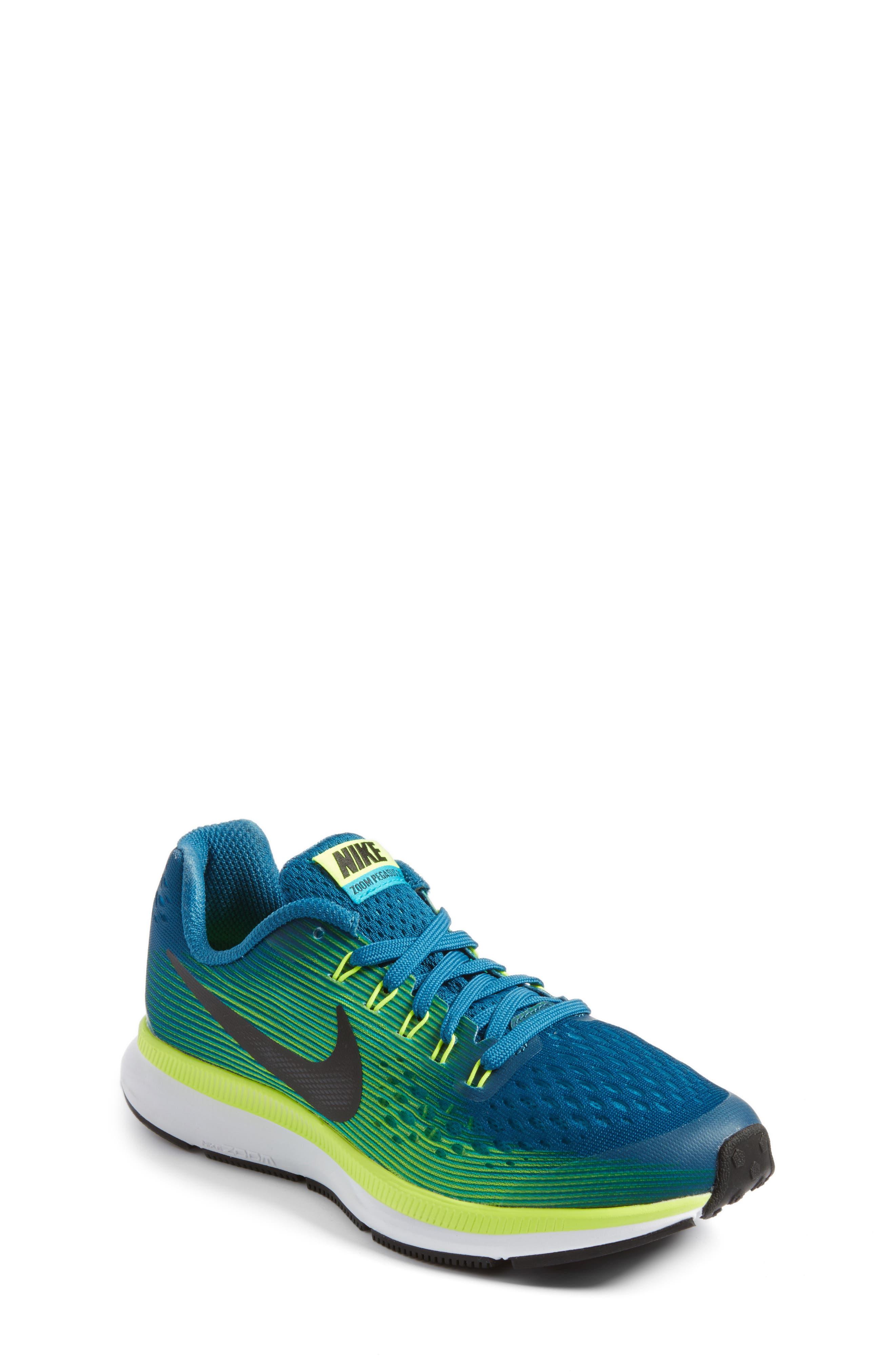 Nike Zoom Pegasus 34 Sneaker (Little Kid & Big Kid)